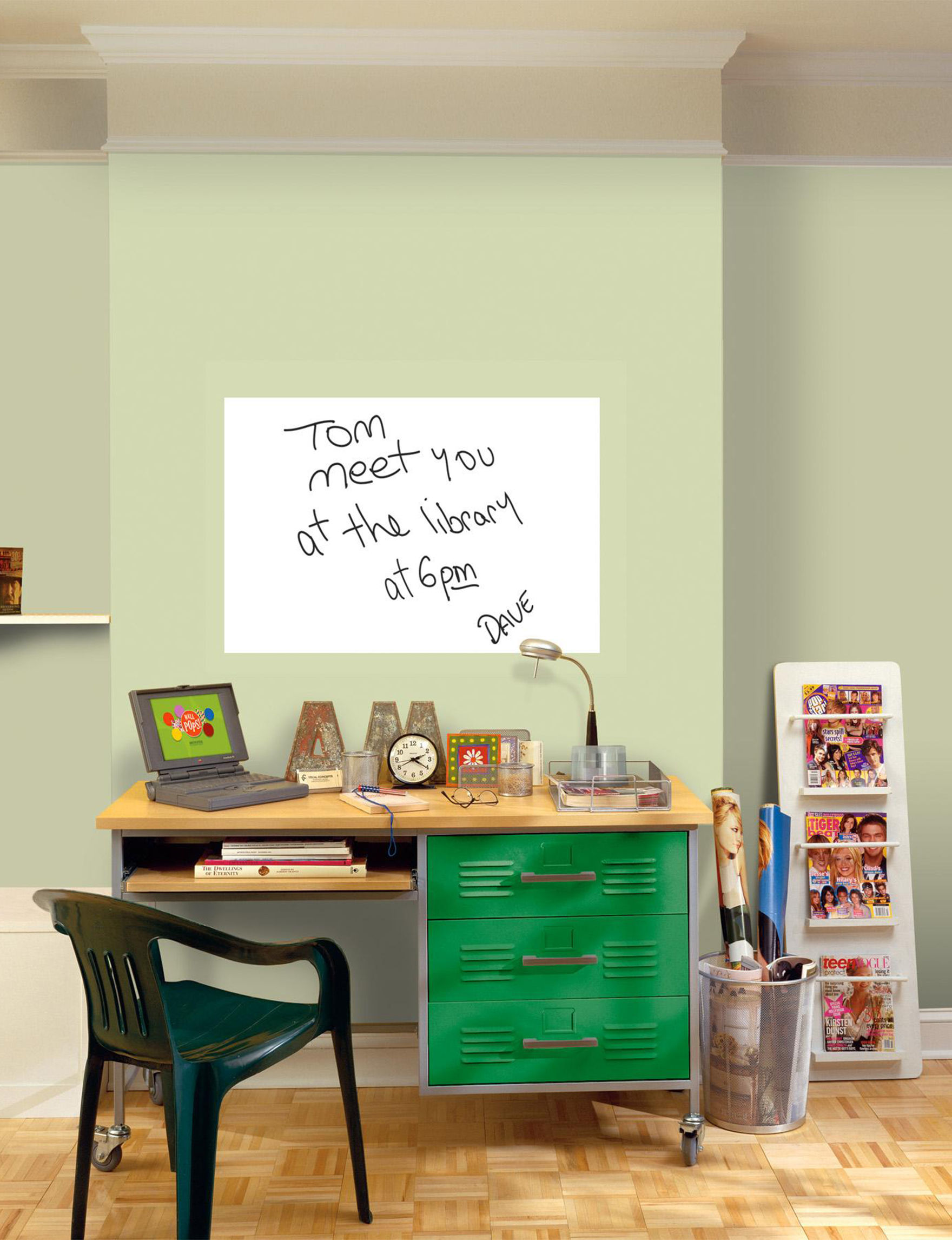 Wall Pops White Message Boards Wall Decor