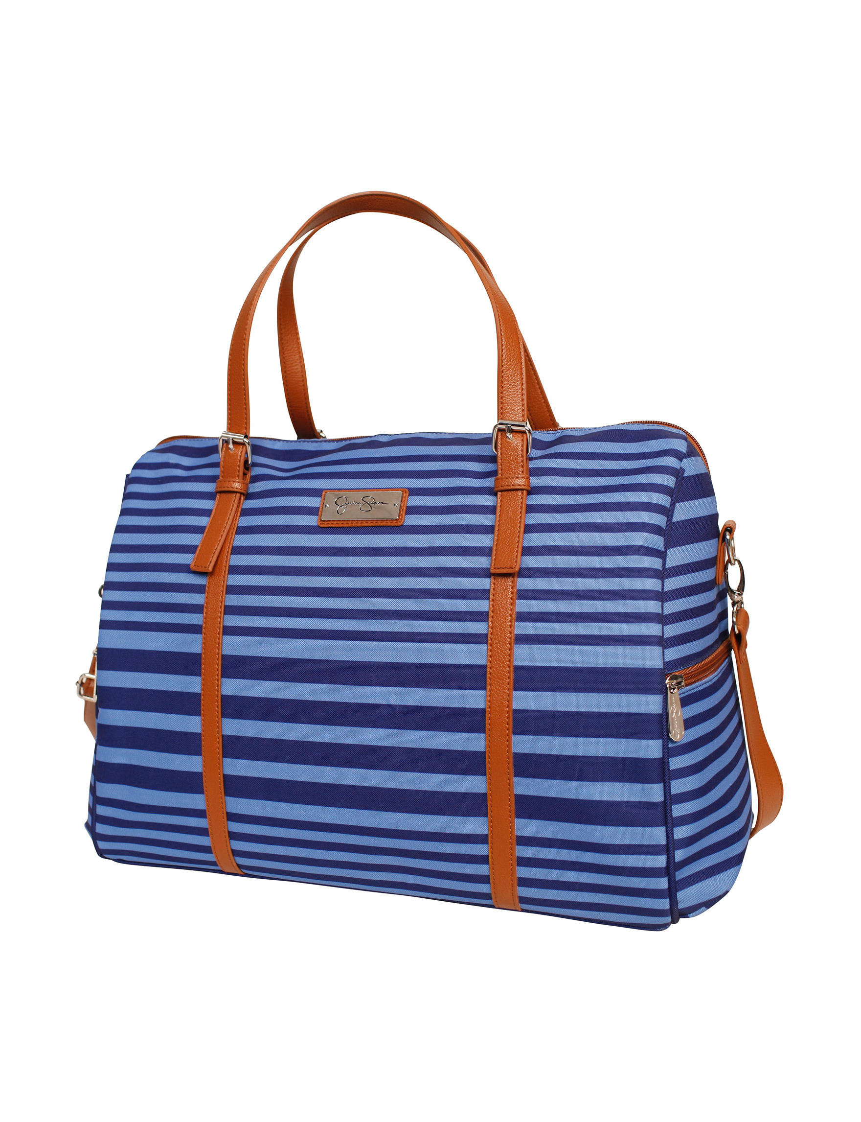 Jessica Simpson Blue Weekend Bags