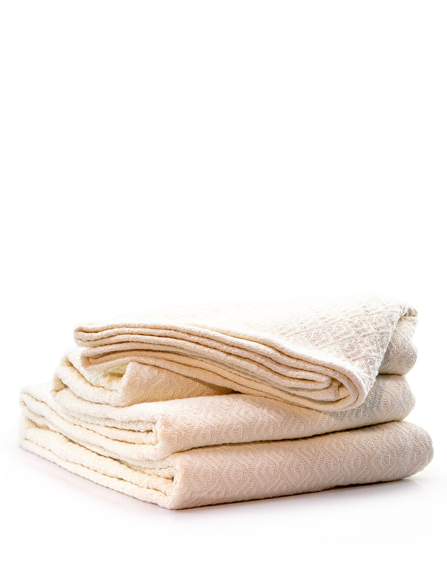 Laura Ashley Ivory Blankets & Throws