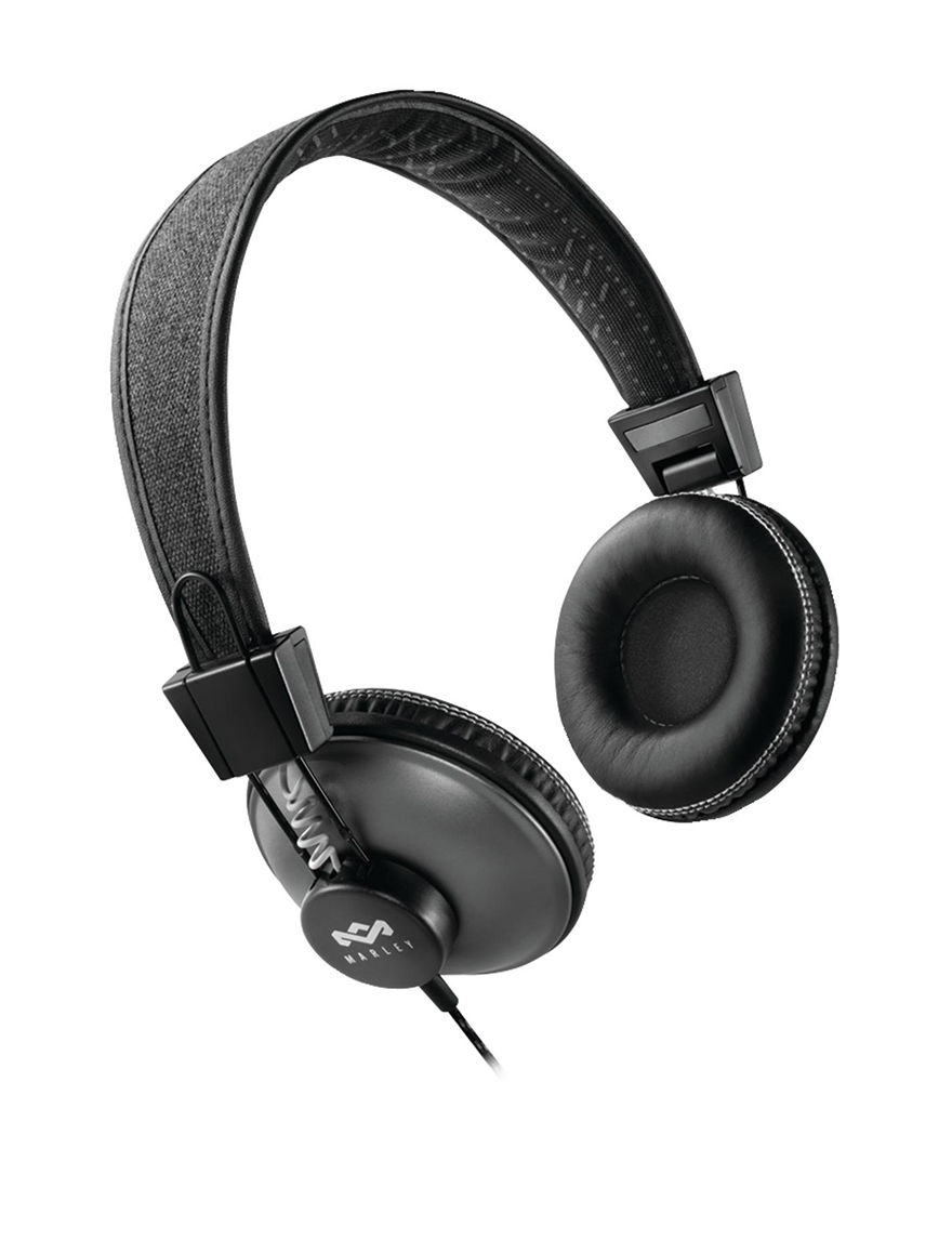 House of Marley Black Headphones Home & Portable Audio