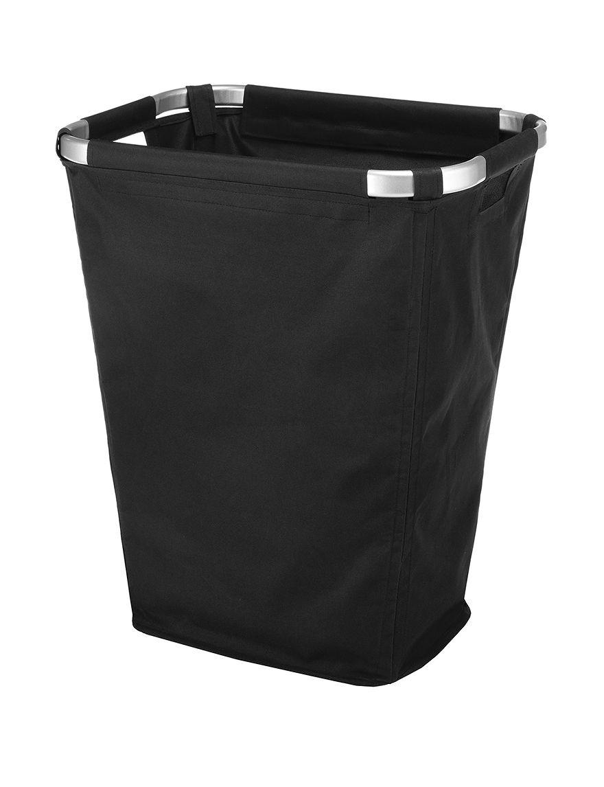 Whitmor Black Laundry Hampers