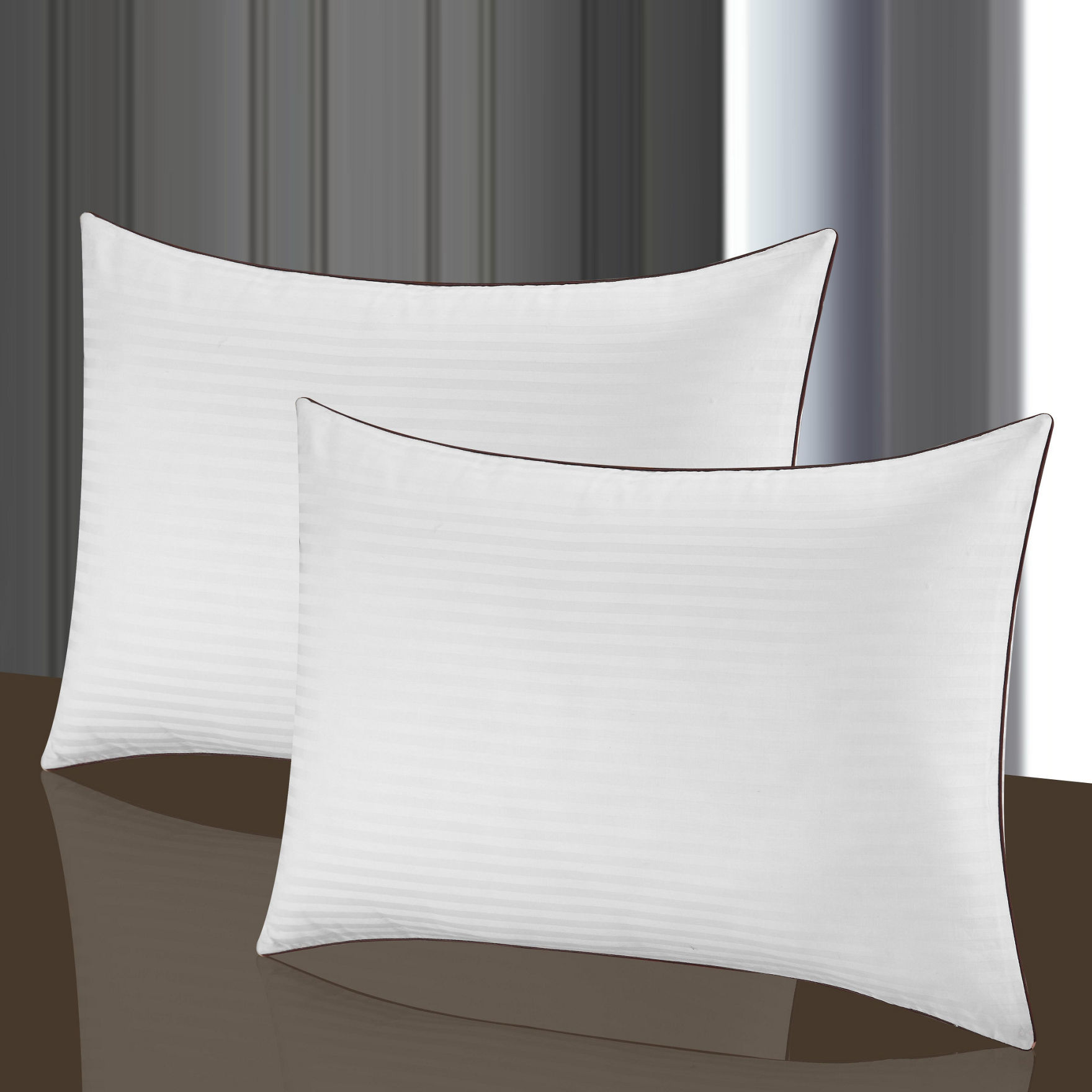 Chic Home Design White Bed Pillows
