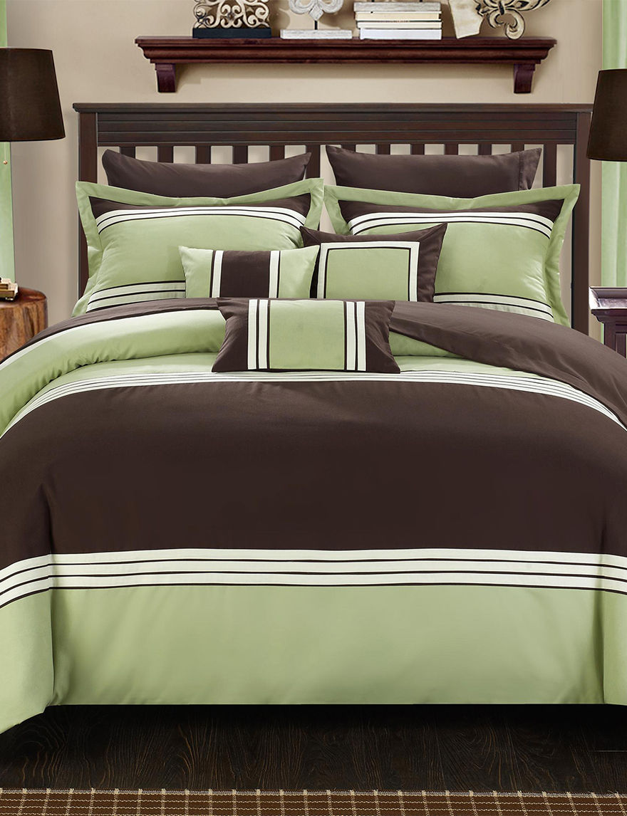 Chic Home Design Green Comforters & Comforter Sets