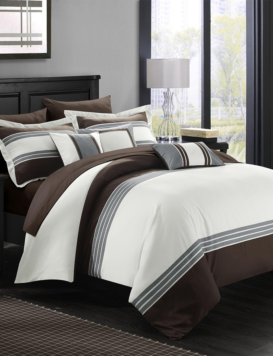 Chic Home Design Brown Comforters & Comforter Sets