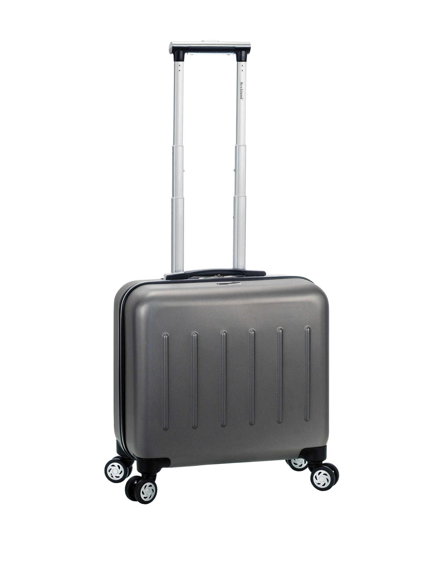 Rockland Silver Laptop & Messenger Bags Upright Spinners