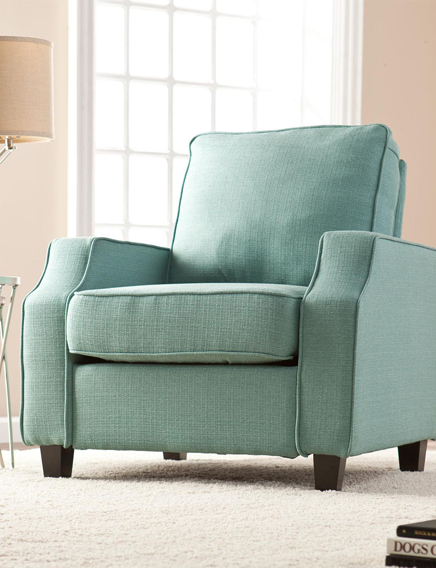 Southern Enterprises Turqouise Accent Chairs Living Room Furniture