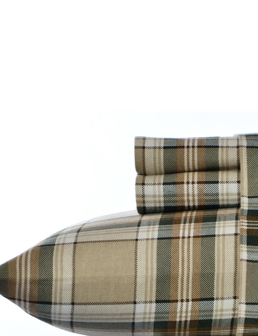 Eddie Bauer Khaki Sheets & Pillowcases