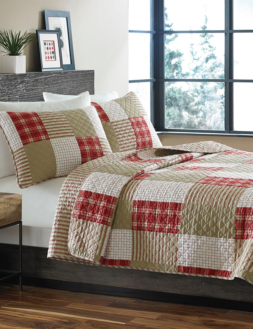 Eddie Bauer Red Quilts & Quilt Sets