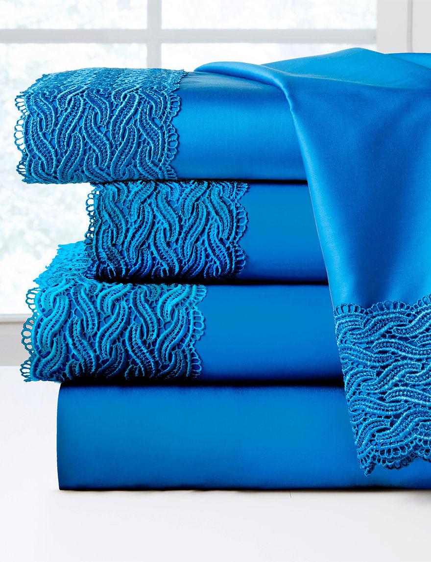 Pointehaven Blue Sheets & Pillowcases