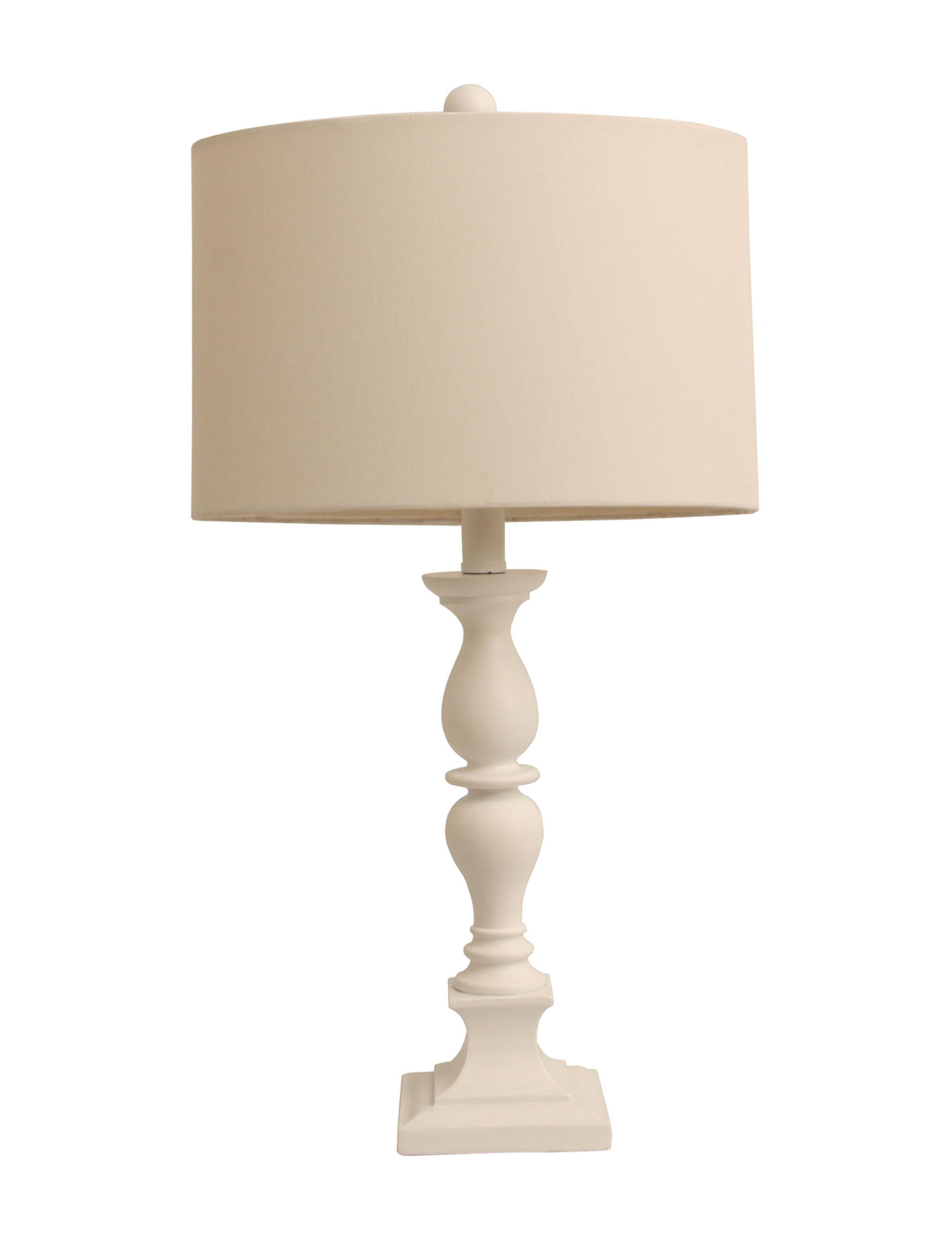Decor Therapy Satin Table Lamps Lighting & Lamps
