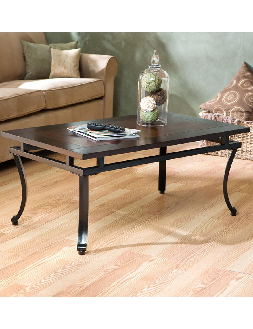 Southern Enterprises Espresso Coffee Tables Living Room Furniture