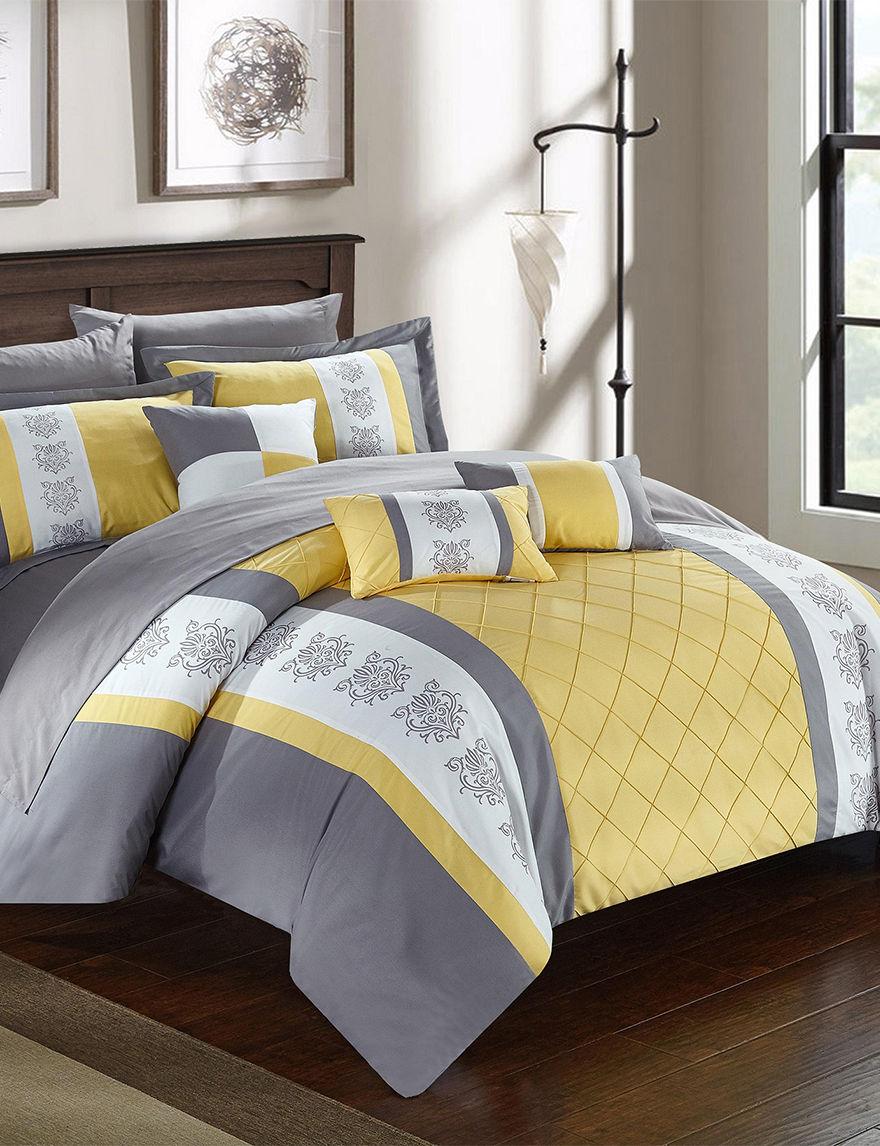Chic Home Design Yellow Comforters & Comforter Sets