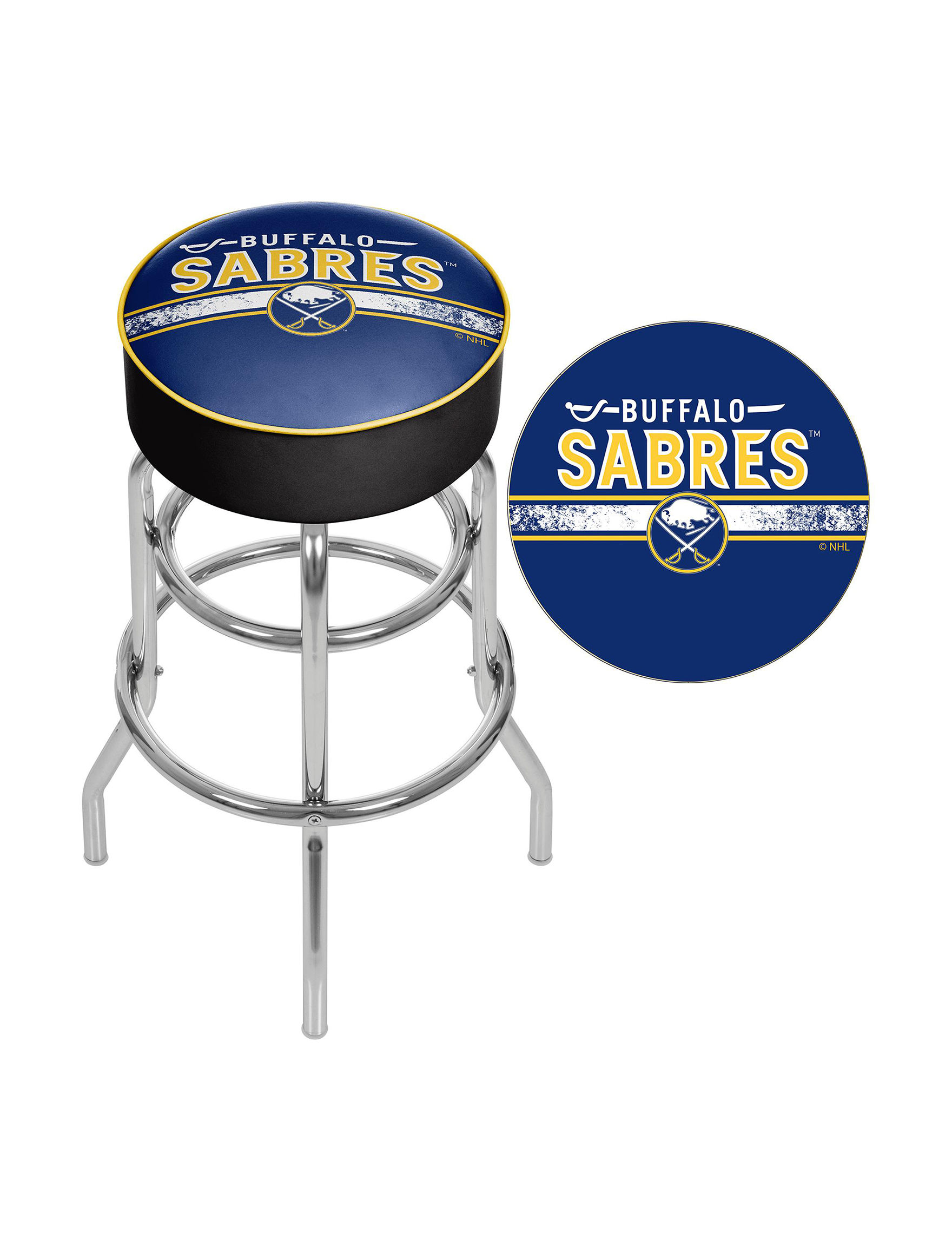 Nhl Buffalo Sabres Swivel Bar Stool Stage Stores