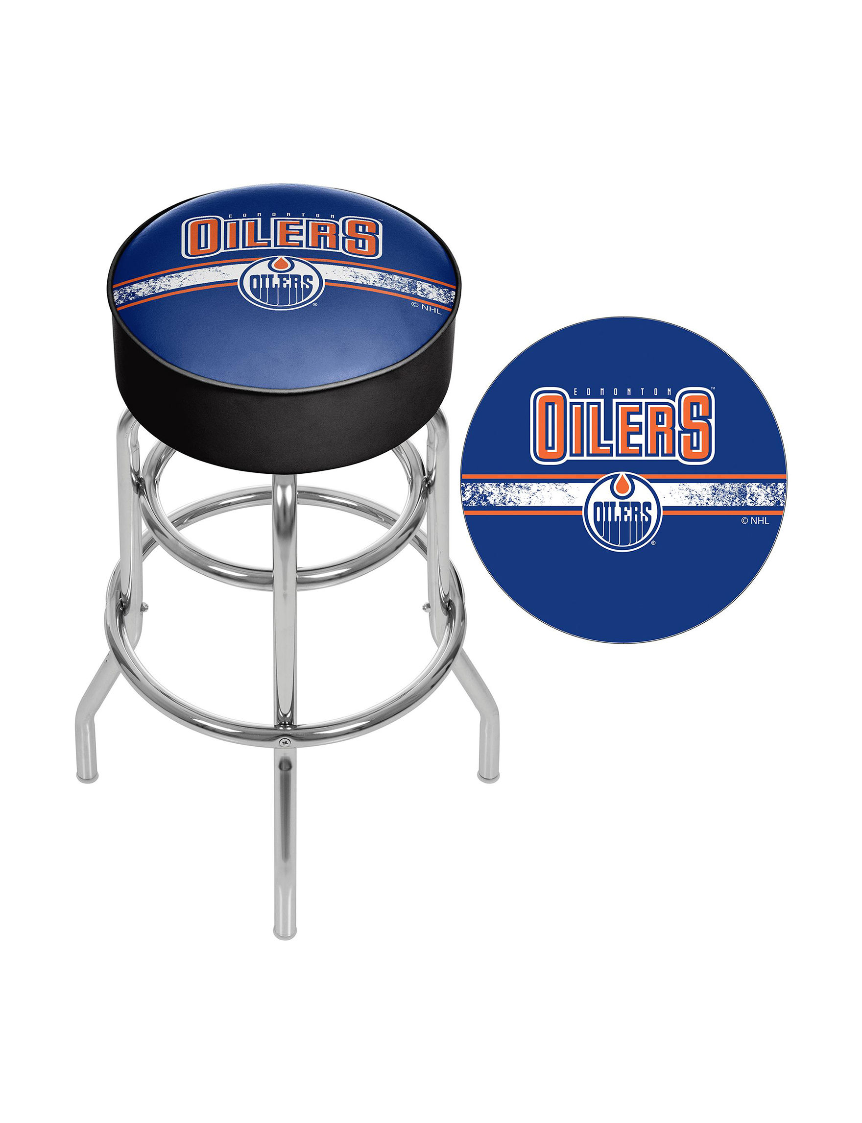NHL Blue Bar & Kitchen Stools Kitchen & Dining Furniture