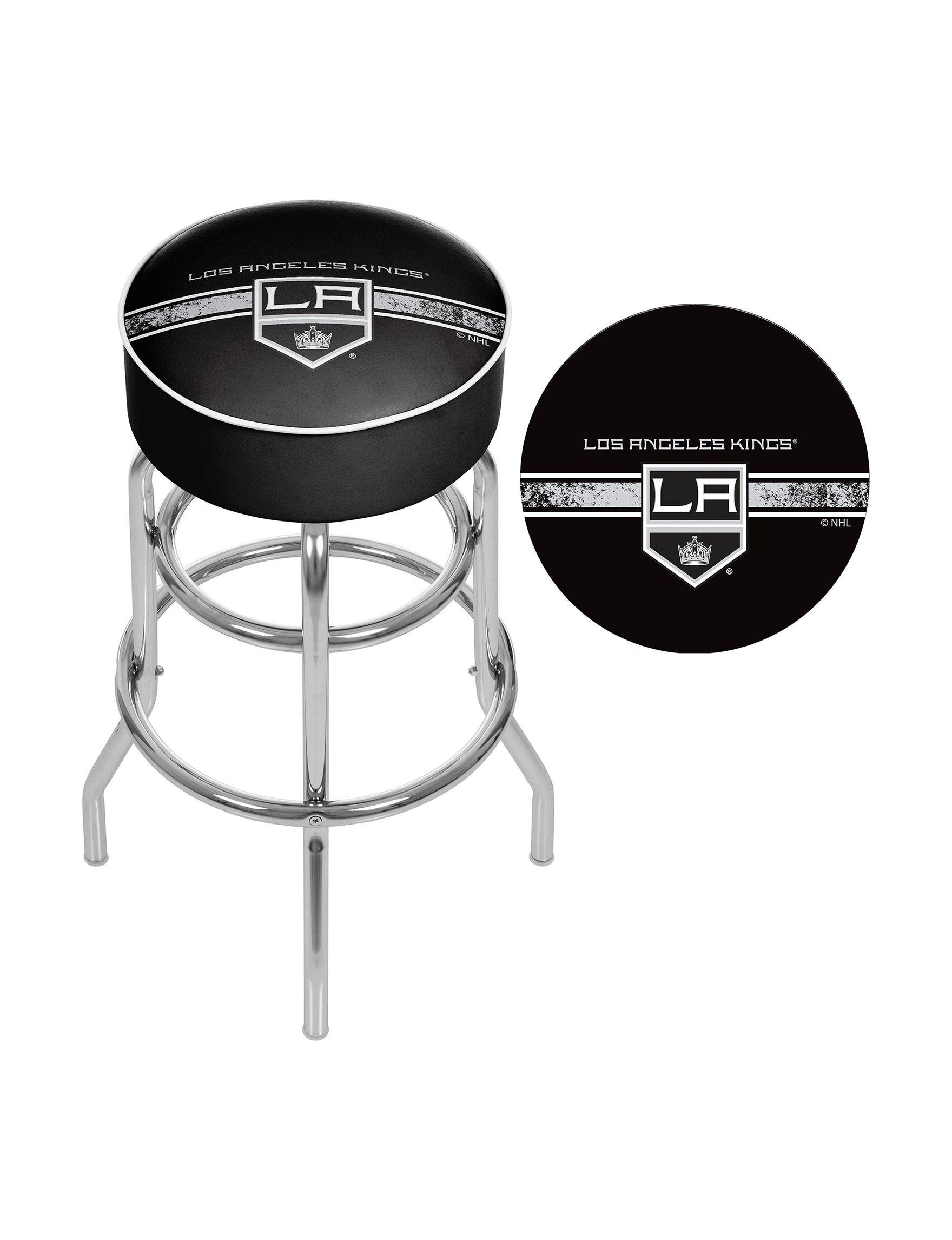 NHL Grey Bar & Kitchen Stools Kitchen & Dining Furniture