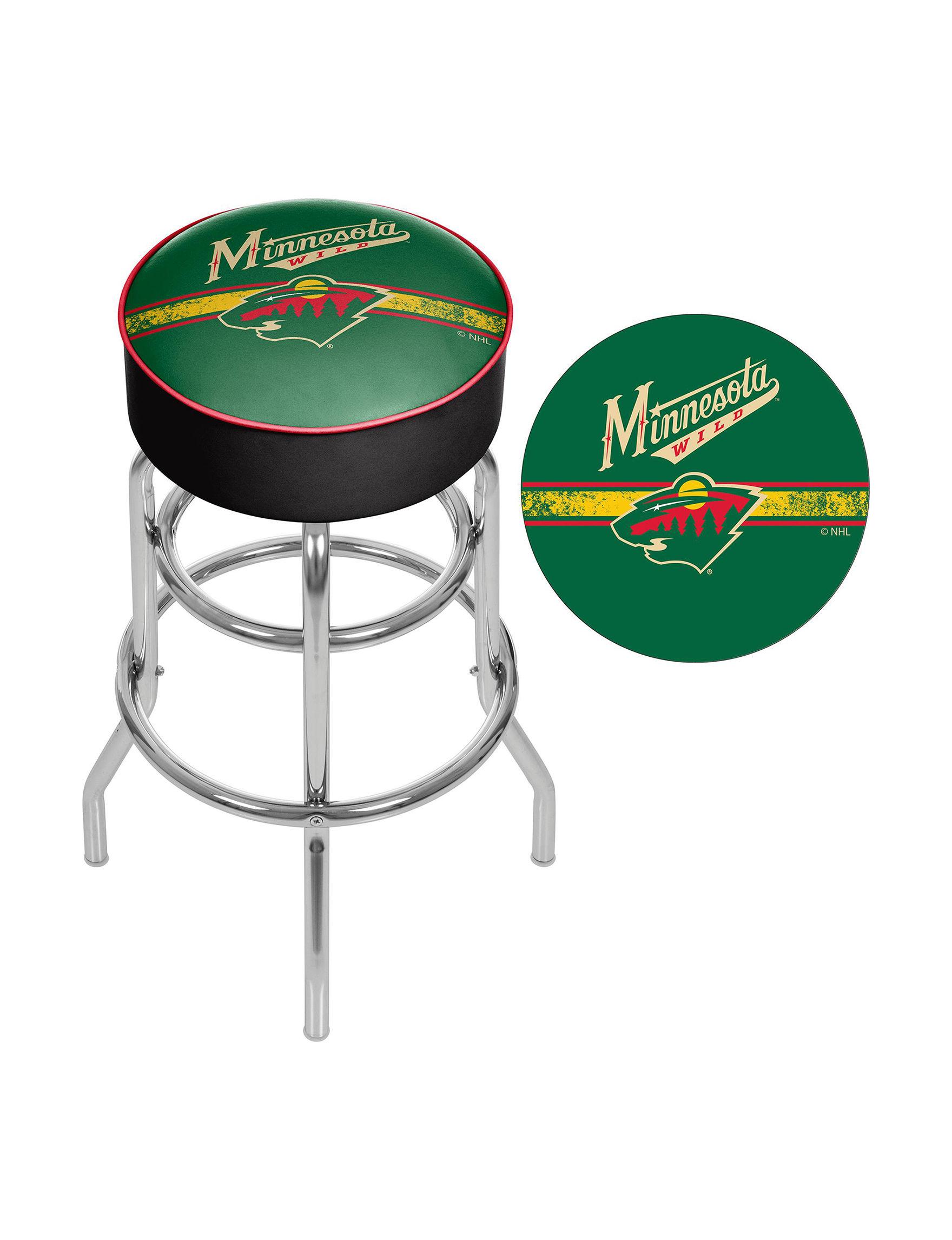 NHL Green Bar & Kitchen Stools Kitchen & Dining Furniture