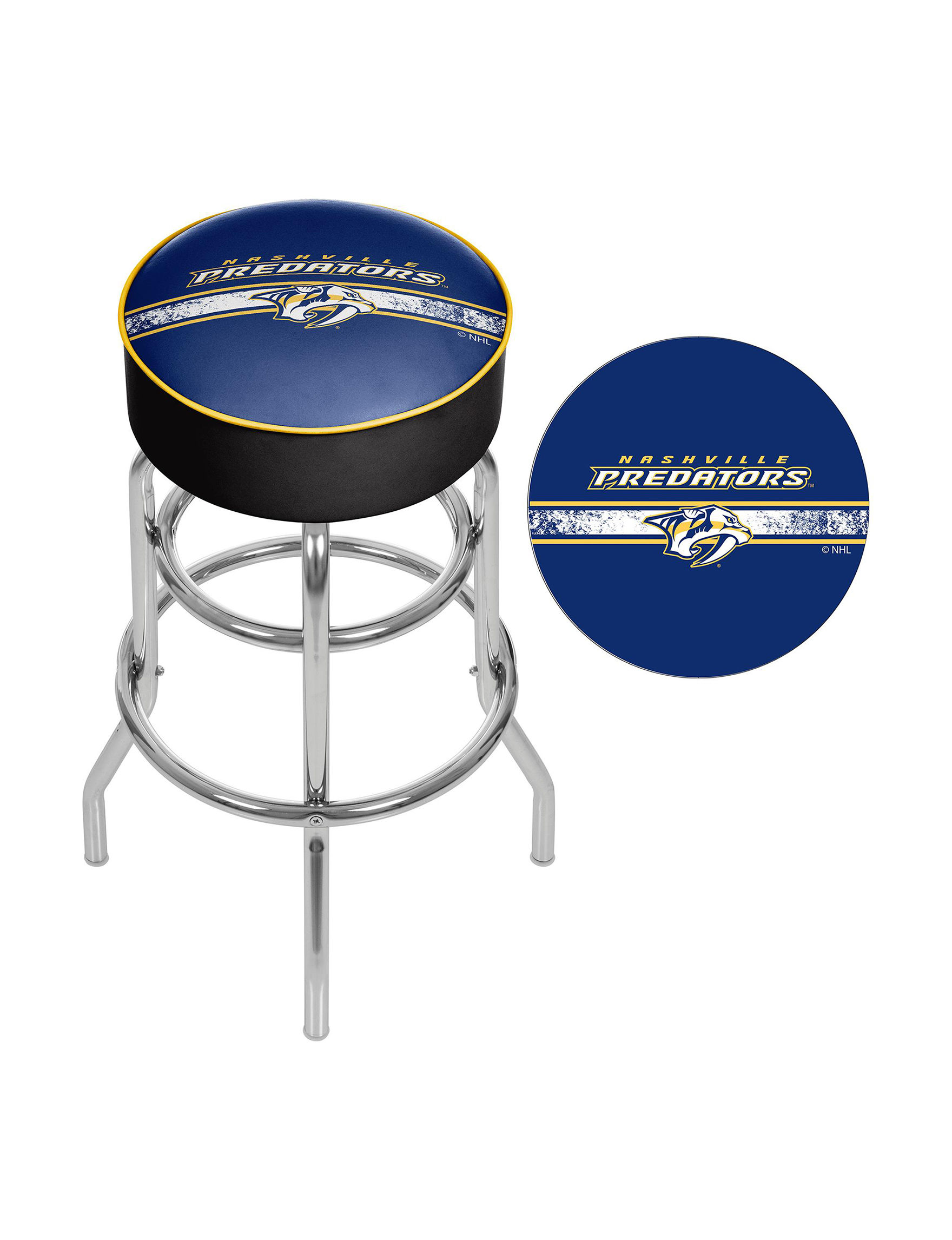 Nhl Nashville Predators Swivel Bar Stool Stage Stores