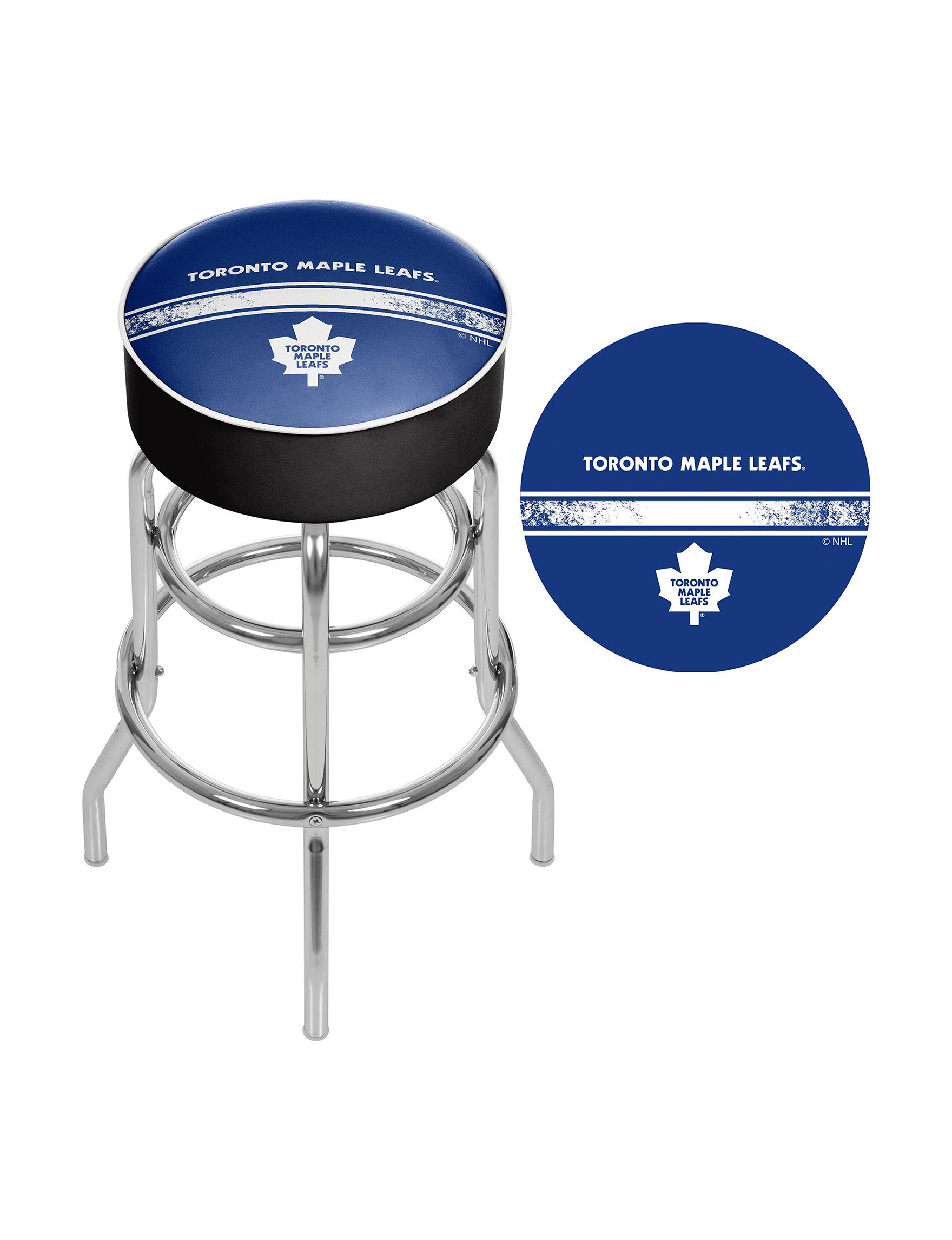 Nhl Toronto Maple Leafs Swivel Bar Stool Stage Stores
