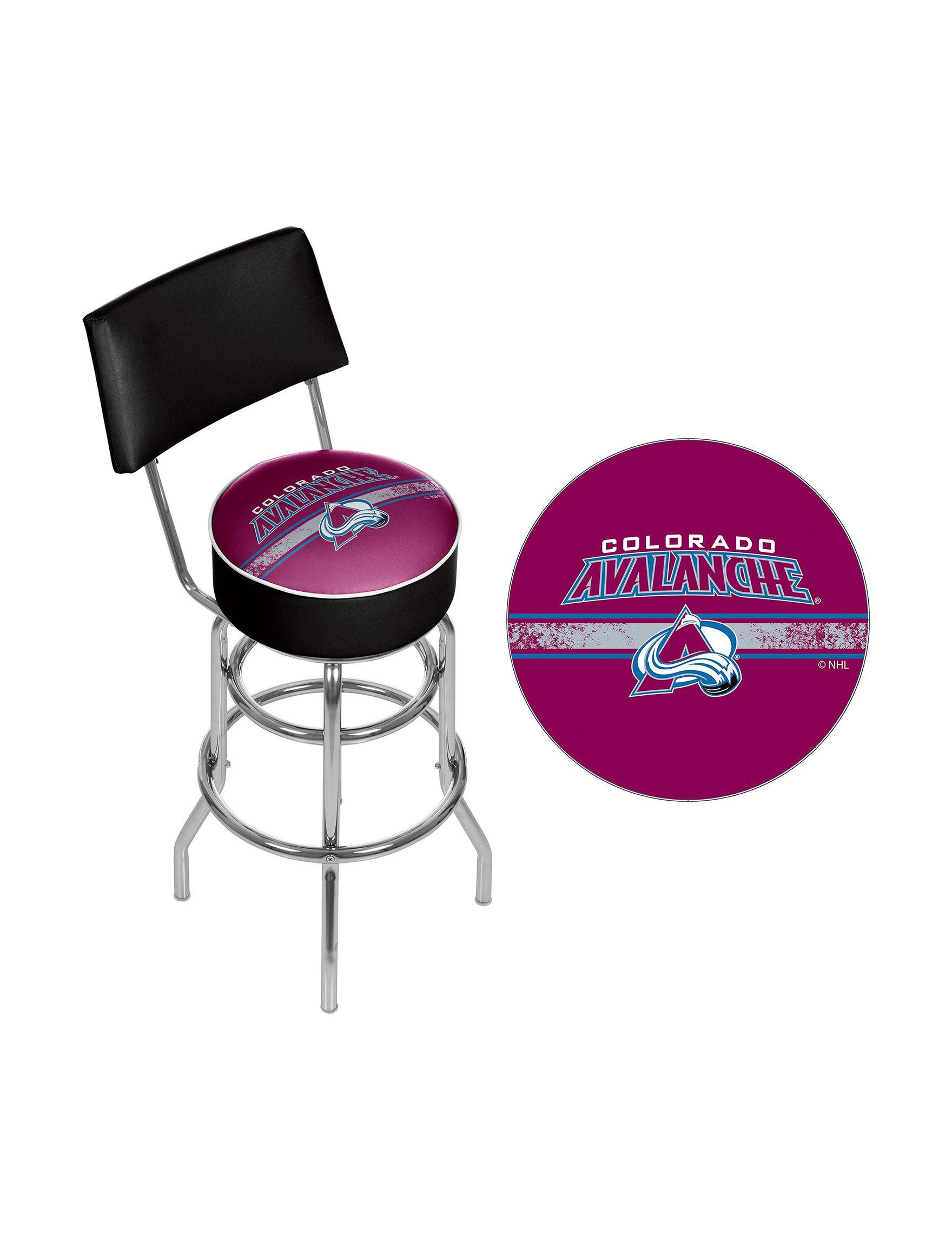 NHL Blue Bar & Kitchen Stools Kitchen & Dining Furniture