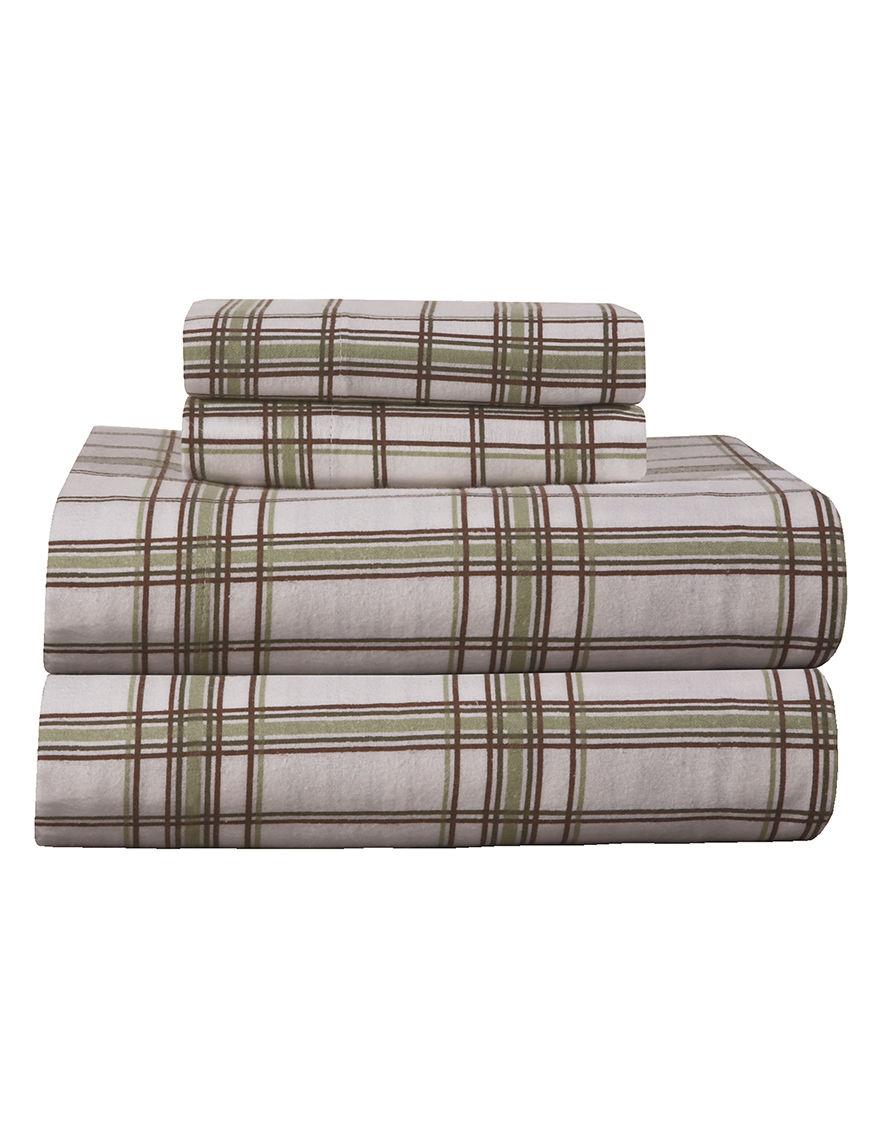 Pointehaven Sage Sheets & Pillowcases