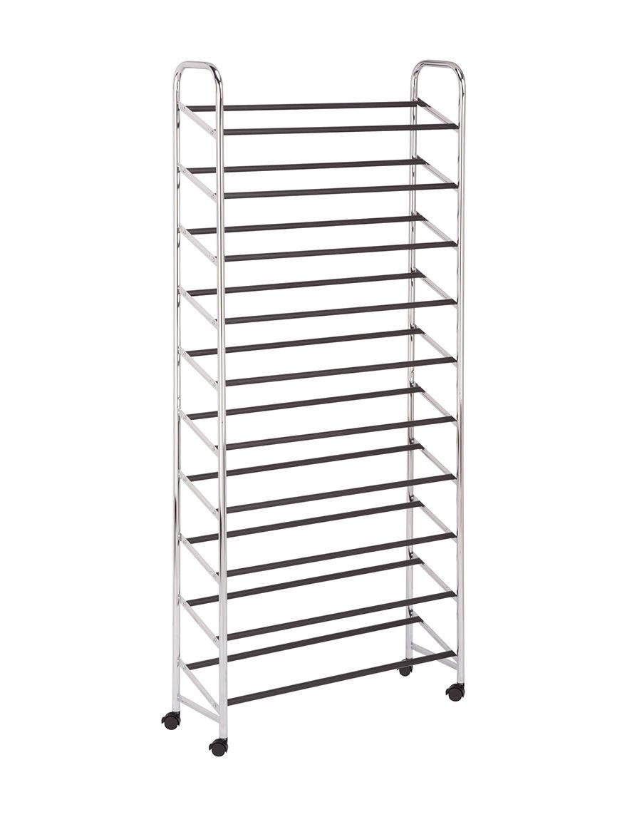 Honey-Can-Do International Chrome Carts & Drawers Storage & Organization