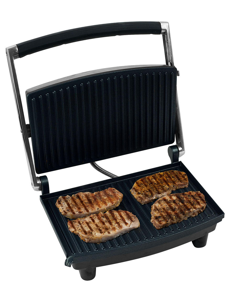 Chef Buddy Silver Electric Grills, Griddles & Waffle Makers Kitchen Appliances