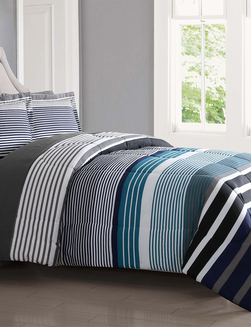 London Fog Blue Comforters & Comforter Sets