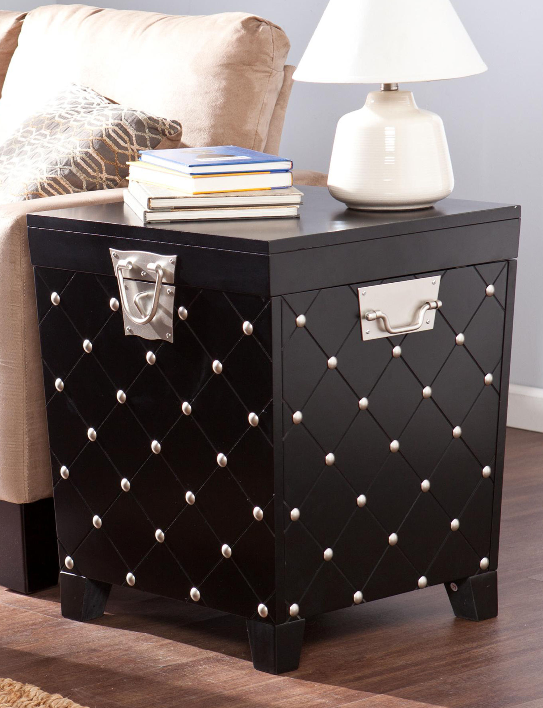 Southern Enterprises Black Accent & End Tables Living Room Furniture