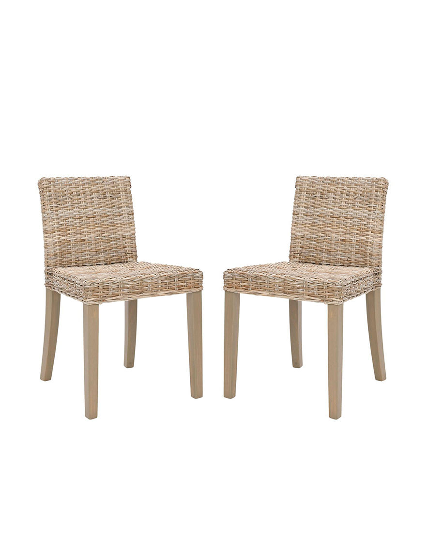 Safavieh Grey / White Dining Chairs Kitchen & Dining Furniture