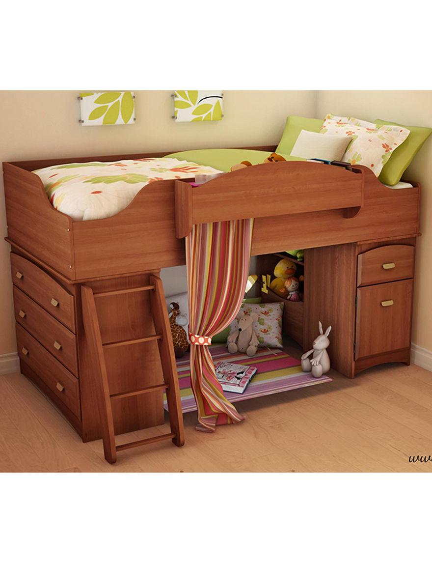 South Shore Morgan Cherry Beds & Headboards Bedroom Furniture