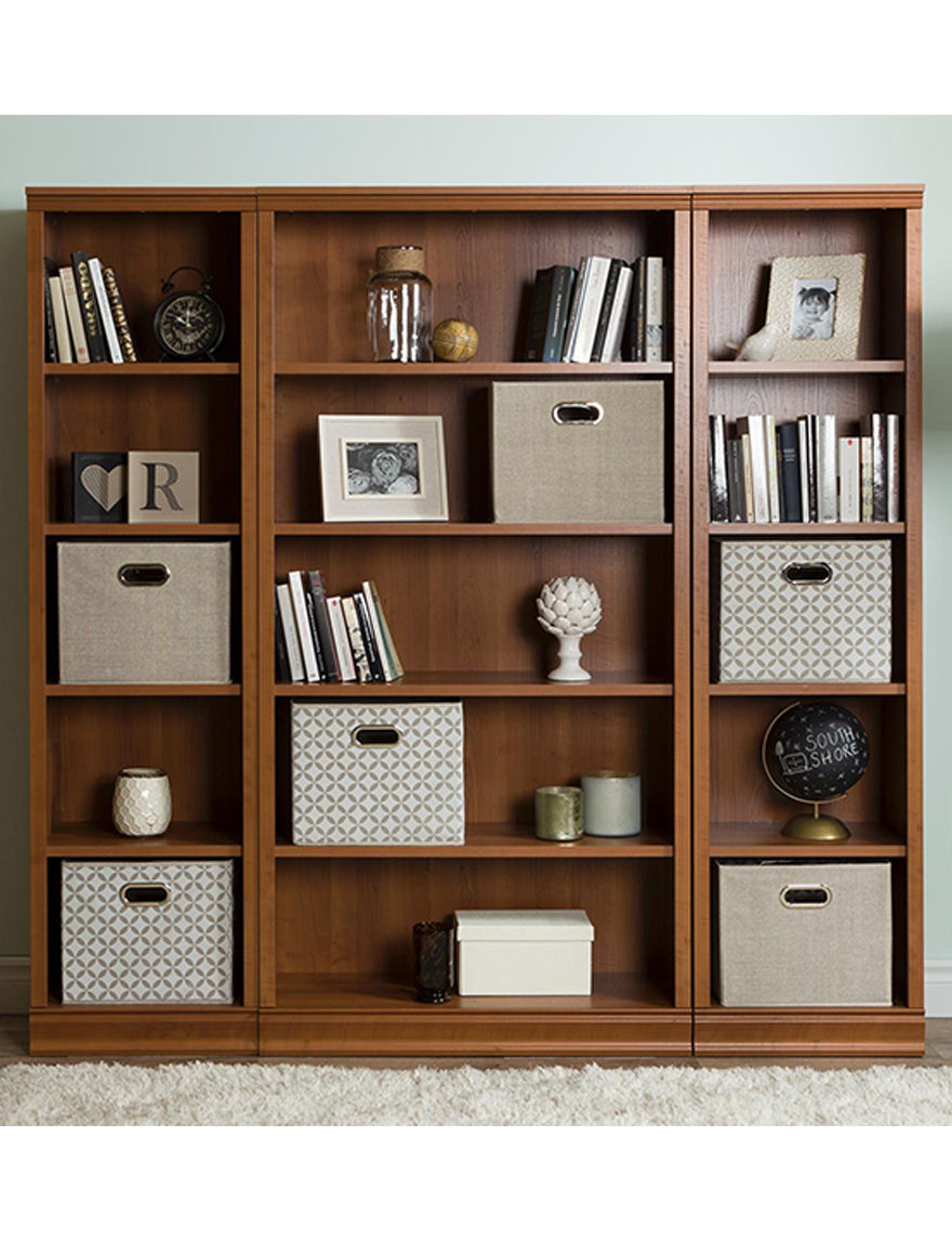 South Shore Morgan Cherry Bookcases & Shelves Home Office Furniture