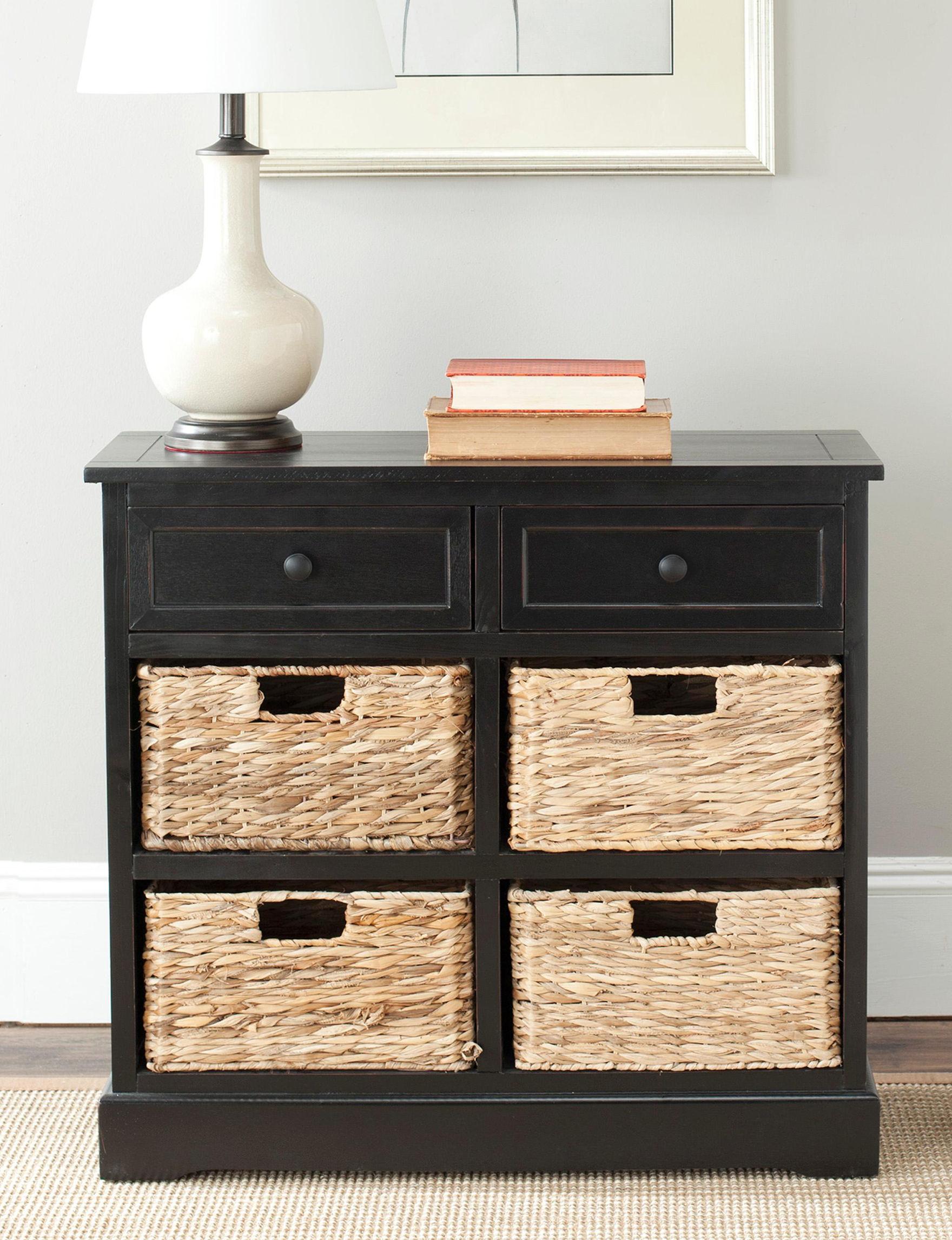 Safavieh Black Bookcases & Shelves Living Room Furniture