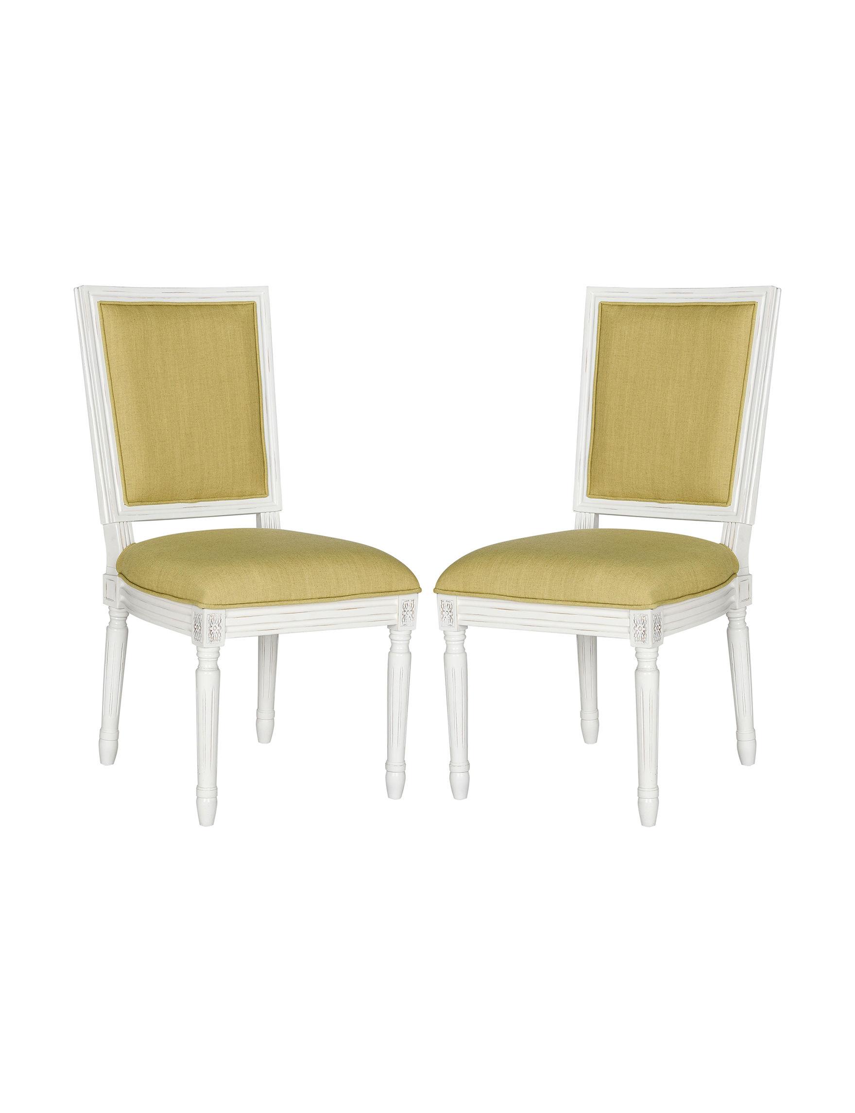 Safavieh Green Accent Chairs Kitchen & Dining Furniture