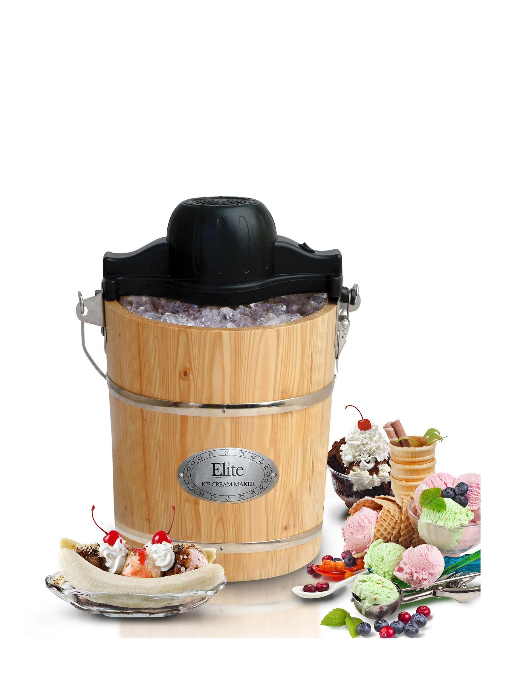 Elite Gourmet Brown Specialty Food Makers Kitchen Appliances
