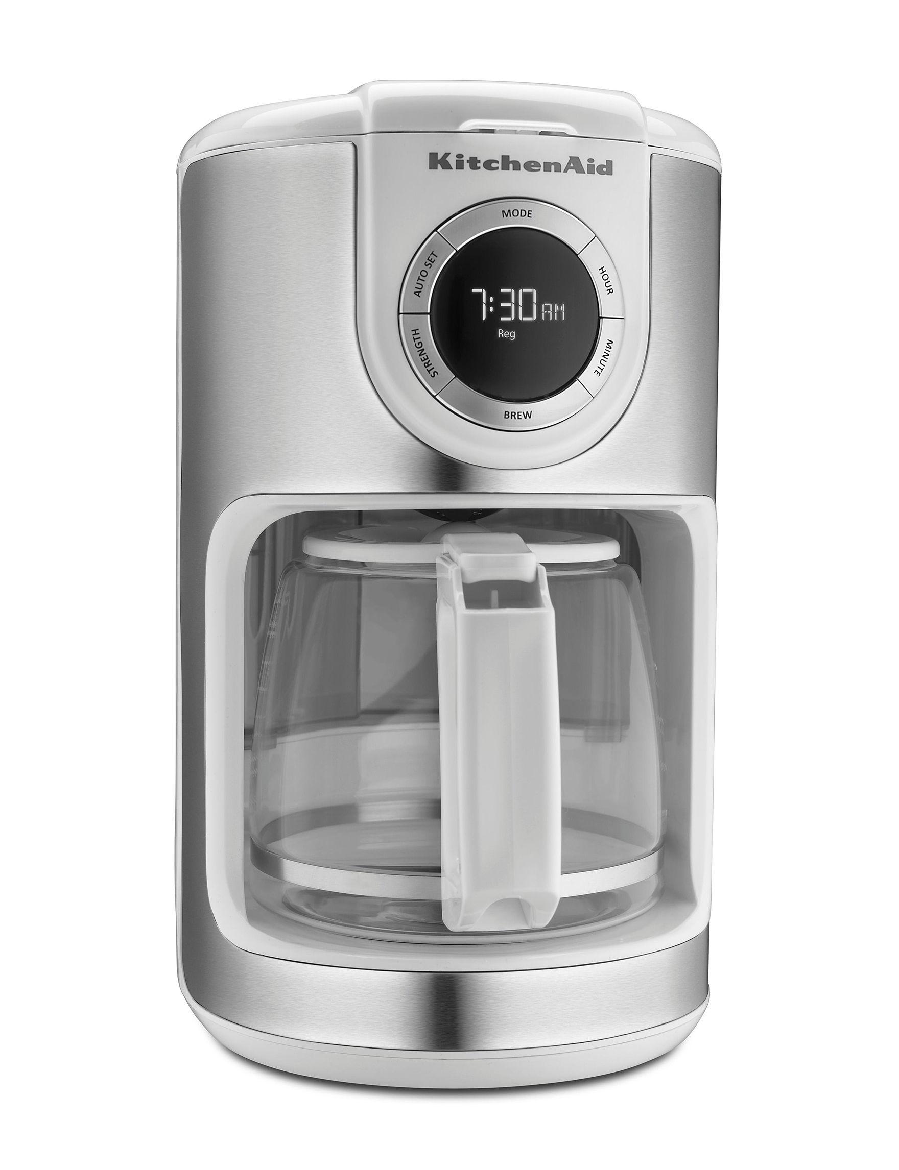 KitchenAid White Coffee, Espresso & Tea Makers Kitchen Appliances