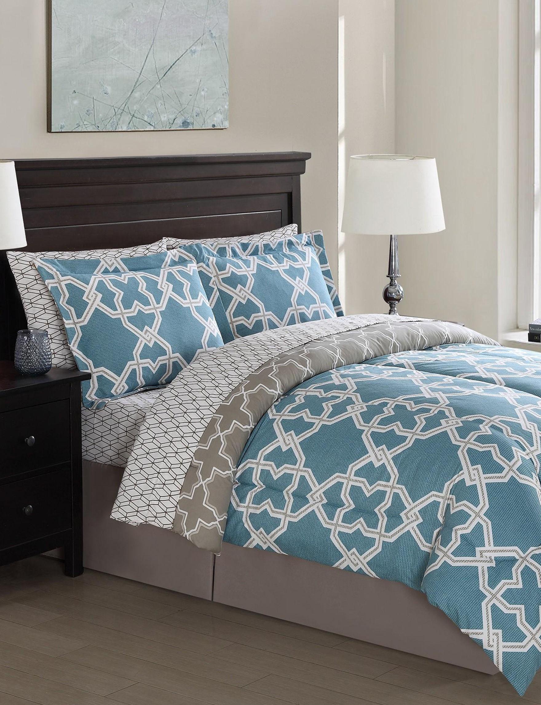 Details Teal Comforters & Comforter Sets