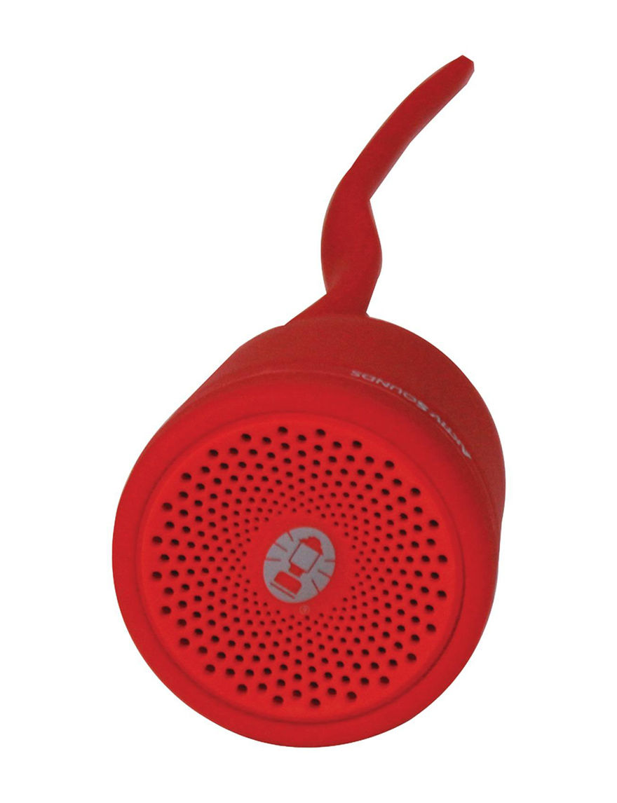 Coleman Red Speakers & Docks Home & Portable Audio