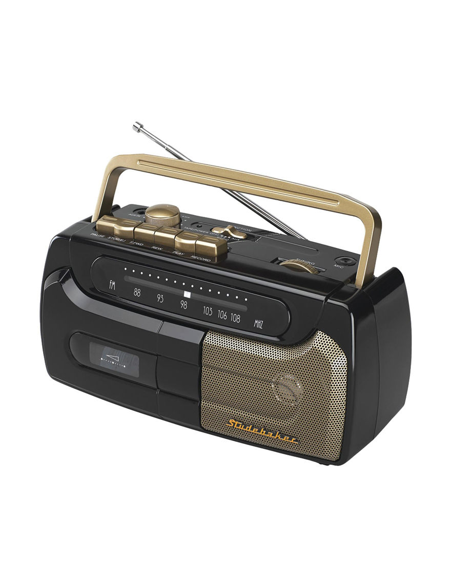 Studebaker Gold CD Players & Boomboxes Home & Portable Audio