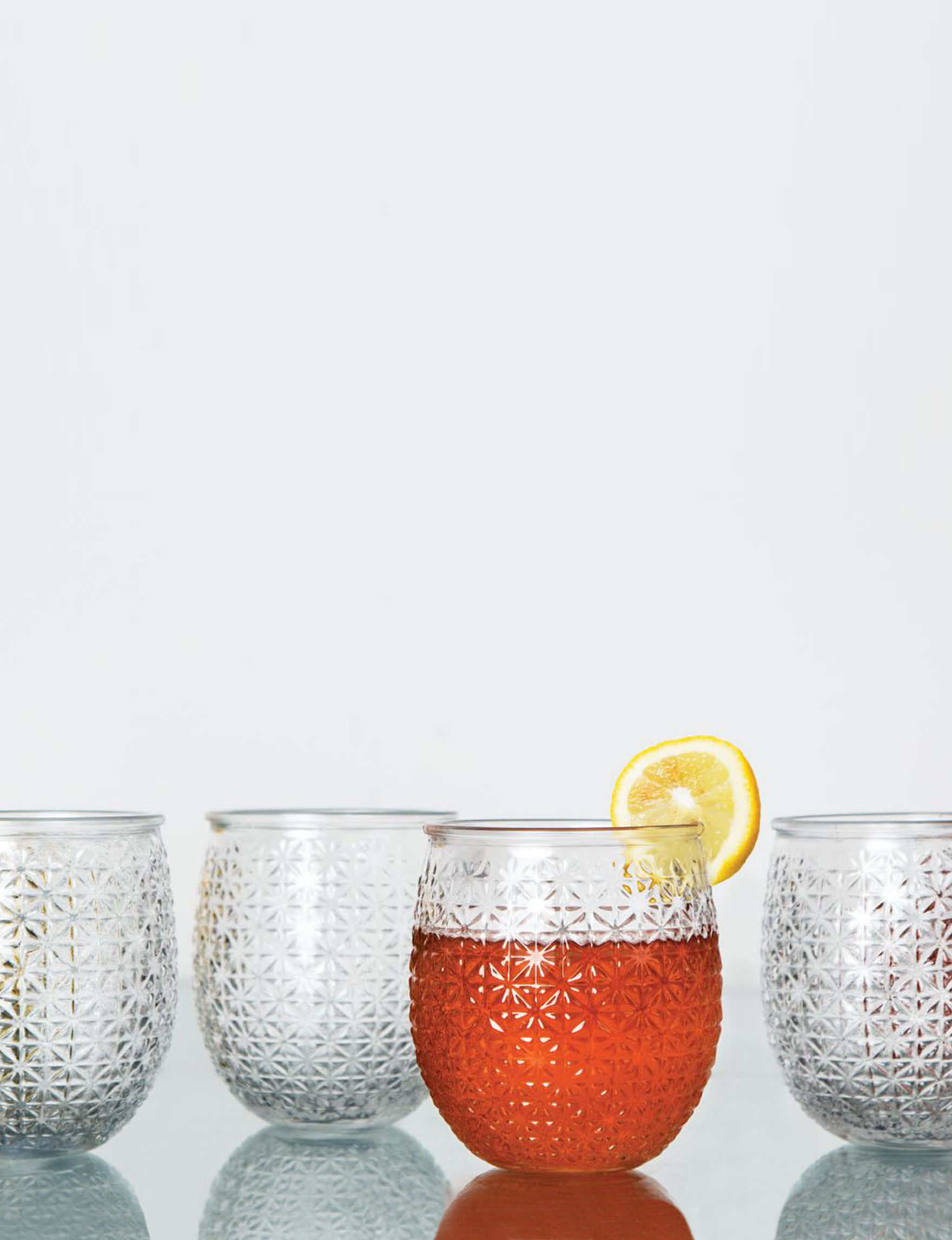 Home Essentials 4-pk. Pineapple Glasses | Stage Stores