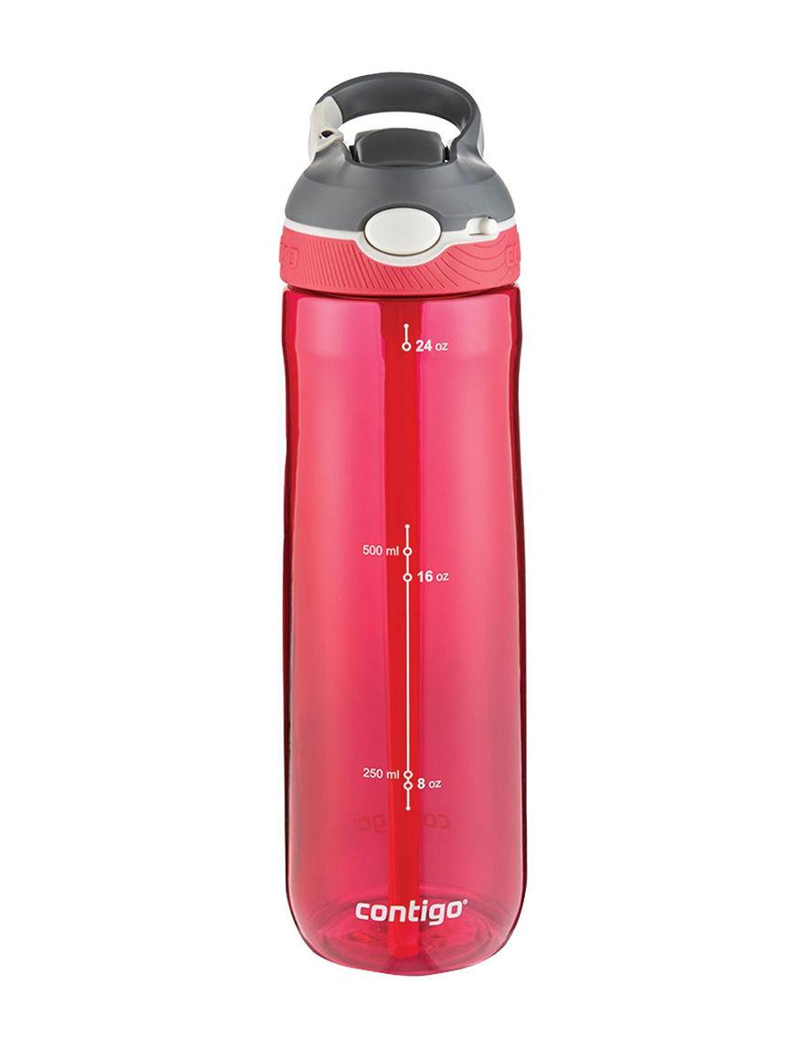Contigo Red Tumblers Water Bottles Drinkware