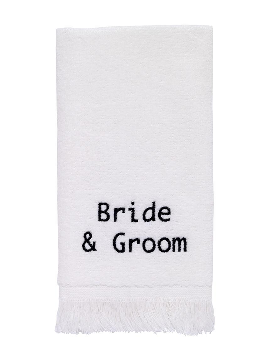 Avanti White Hand Towels Towels
