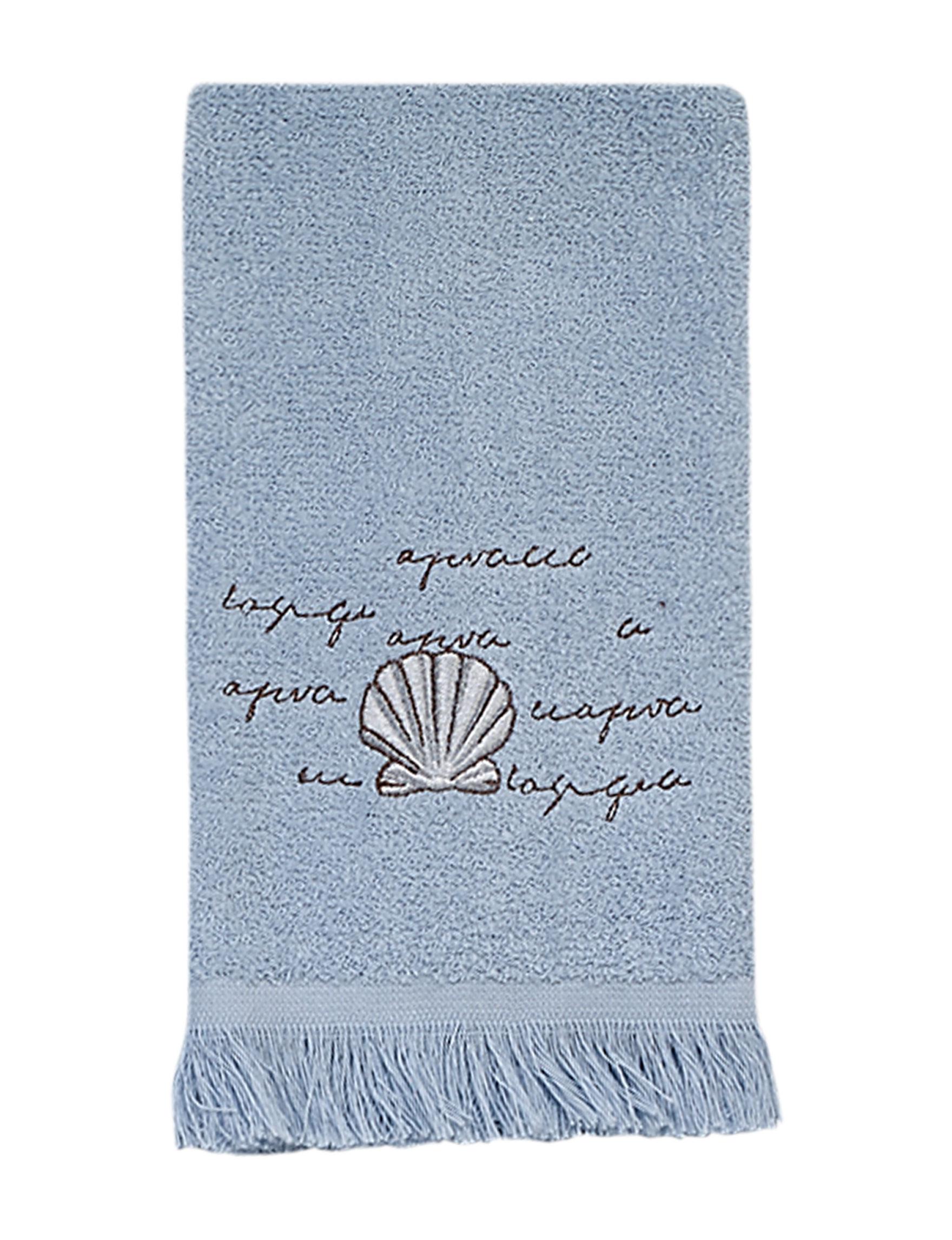 Avanti Blue Hand Towels Towels