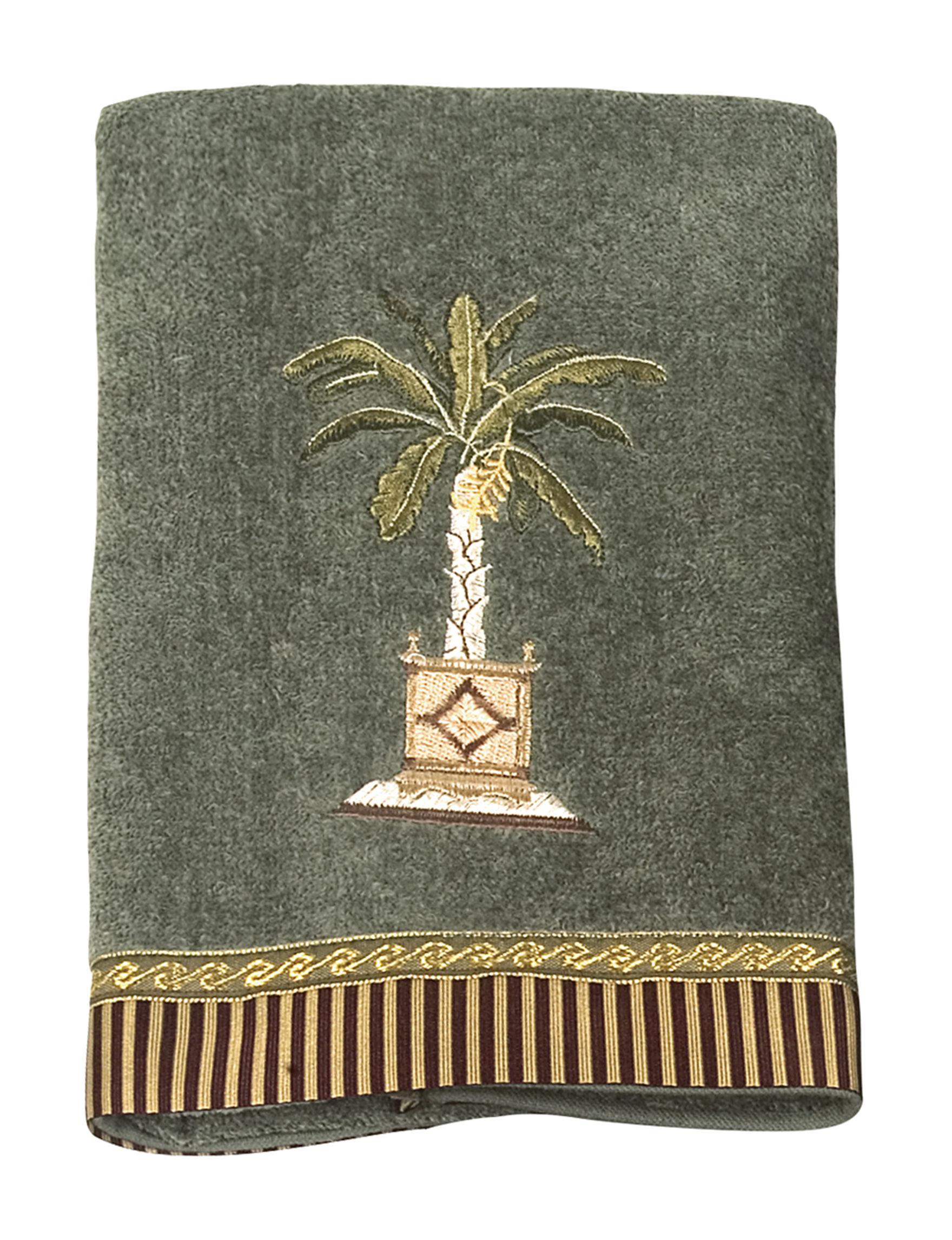 Avanti Light Green Hand Towels Towels