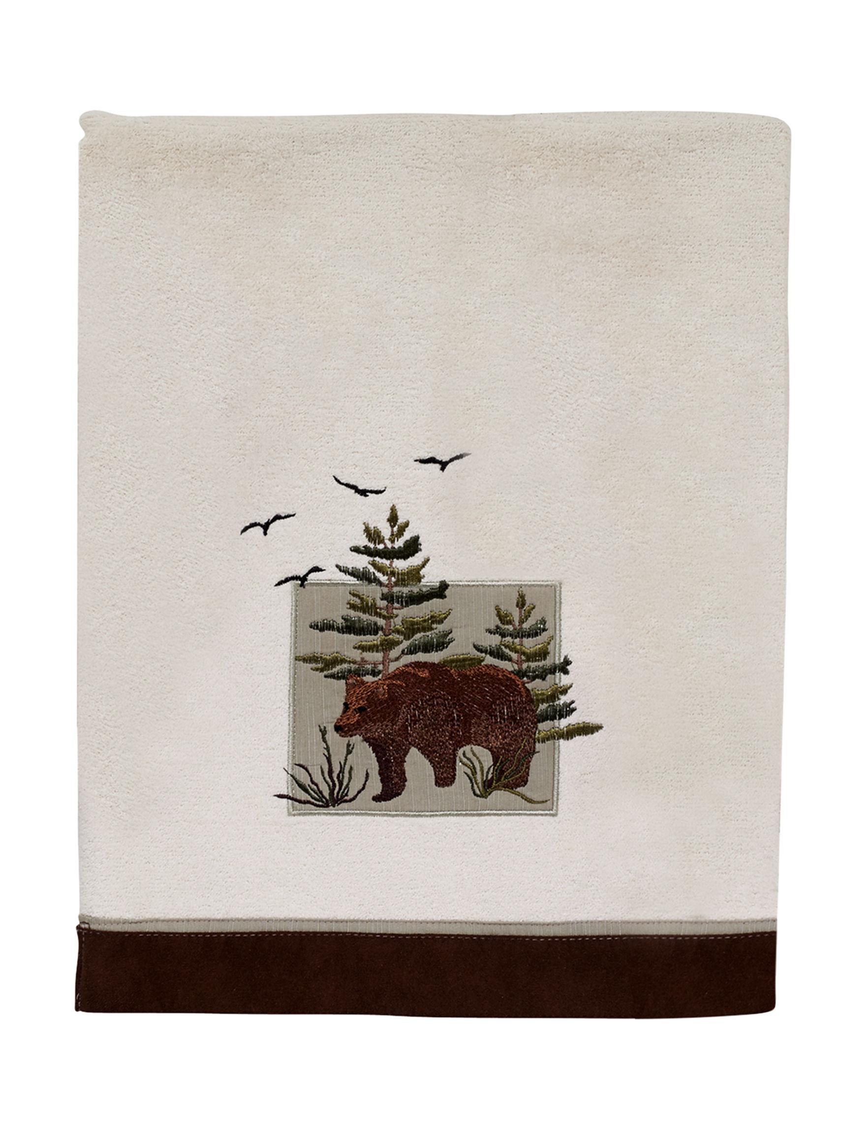 Avanti Ivory Bath Towels Towels