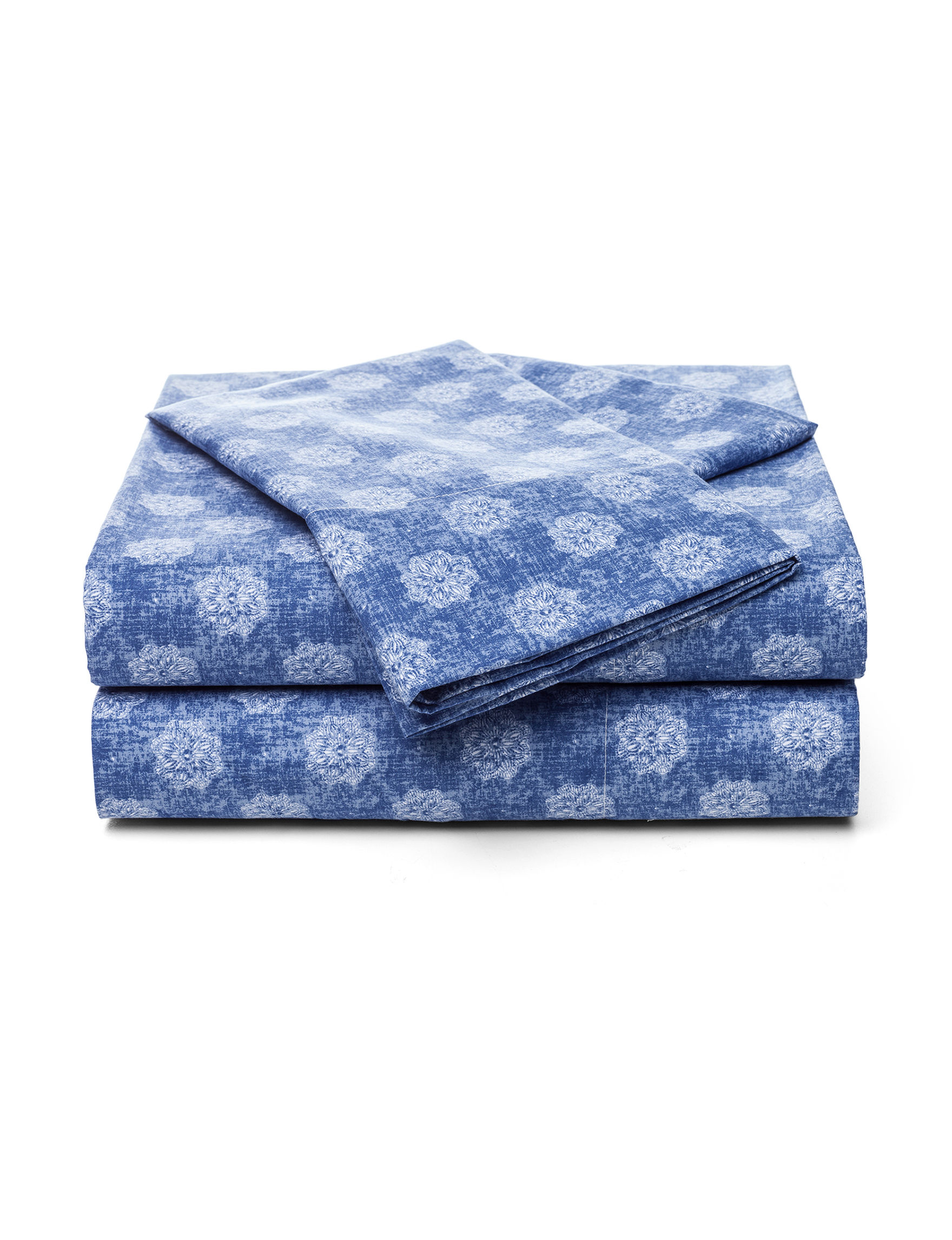 Great Hotels Collection Blue Sheets & Pillowcases