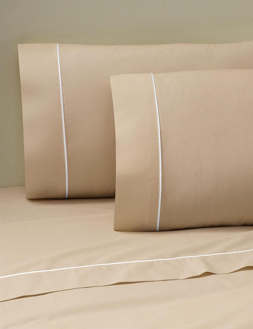Martex Khaki Sheets & Pillowcases