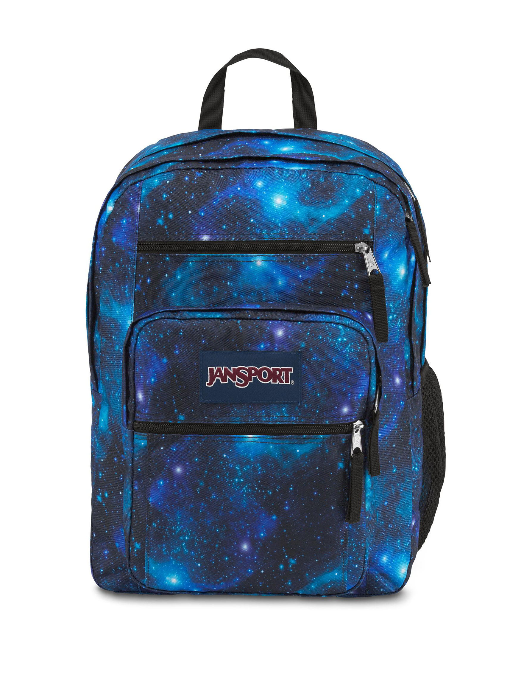 Jansport Black And White Galaxy Backpack- Fenix Toulouse Handball b1e8fef884212