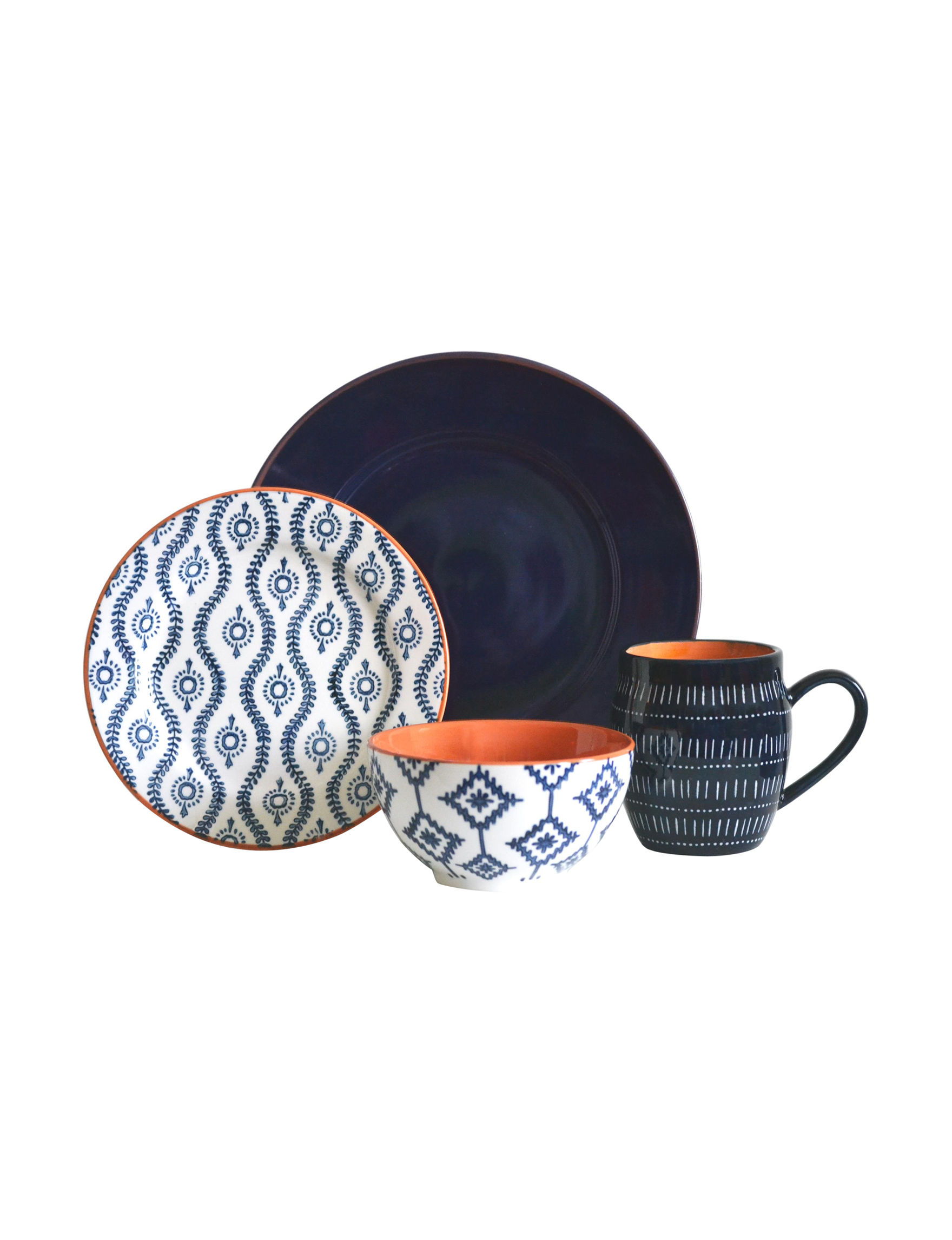 Baum Bros Imports 16-pc. Tangiers Dinnerware Set | Stage Stores