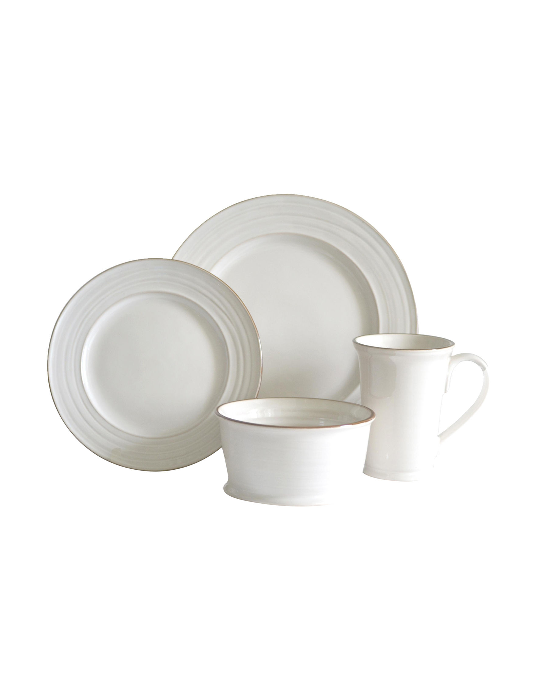 Baum Bros Imports 16-pc. Tuscany Dinnerware Set | Stage Stores