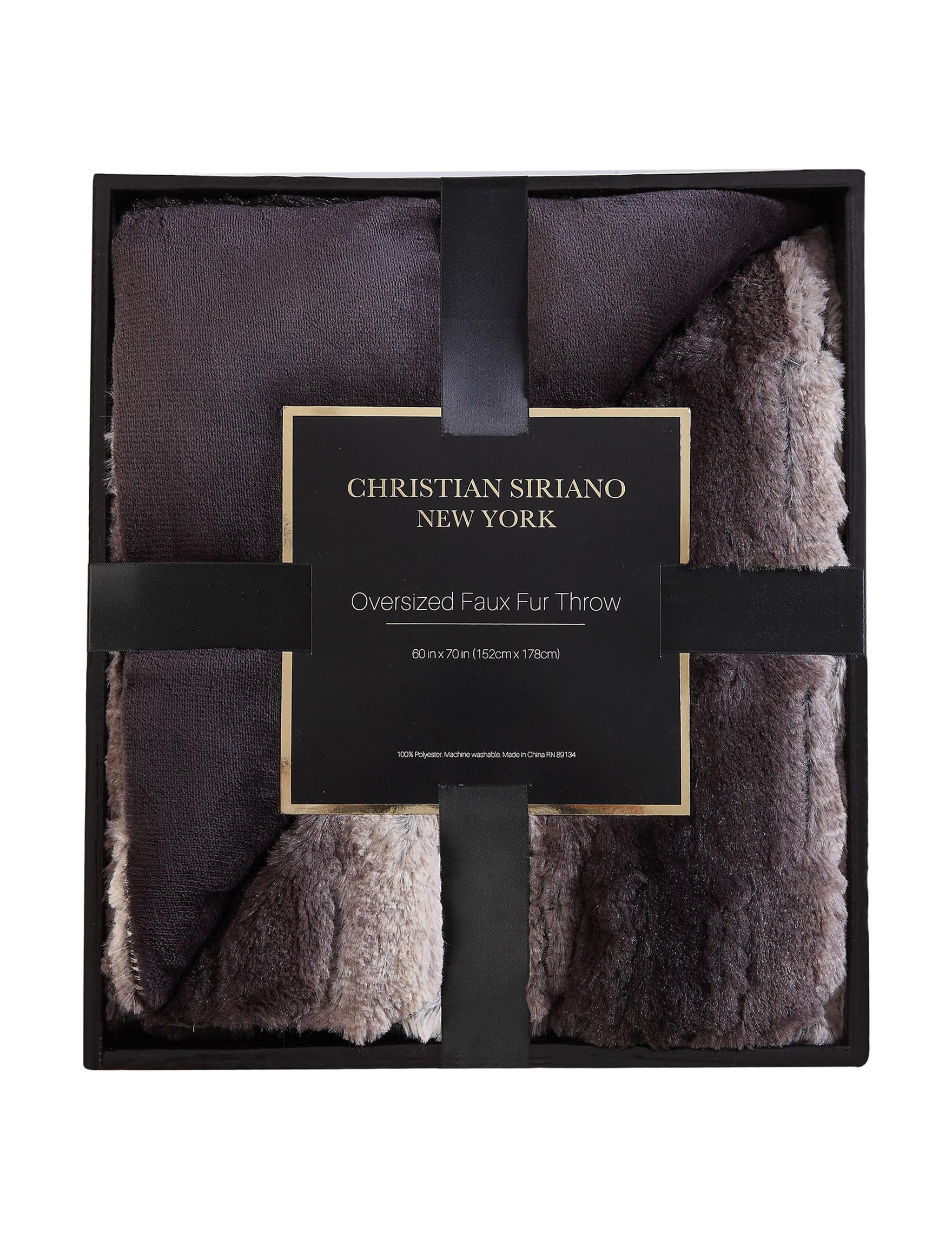 Christian Siriano New York Multi Blankets & Throws